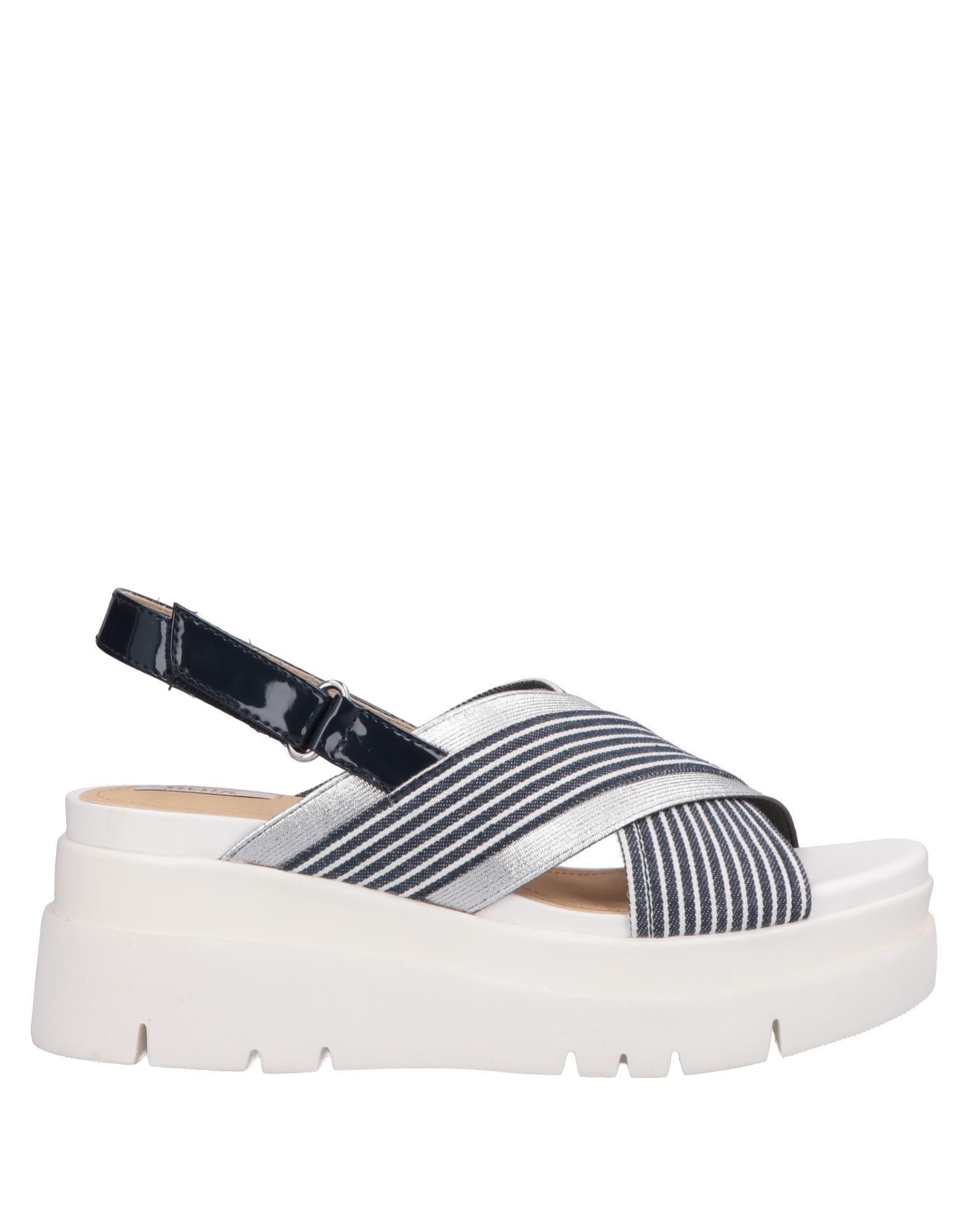 901a81faa6a Lyst - Geox Sandals in Blue