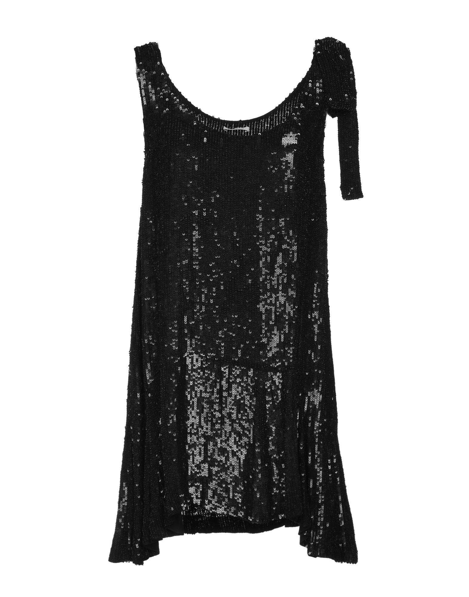 P A R O S H Women Black Short Dress