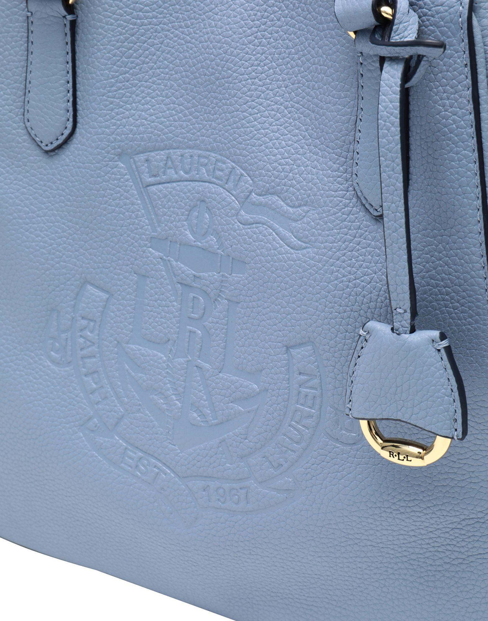 0de2070439af ... ebay lauren by ralph lauren handbag in blue lyst 61d1e ed726