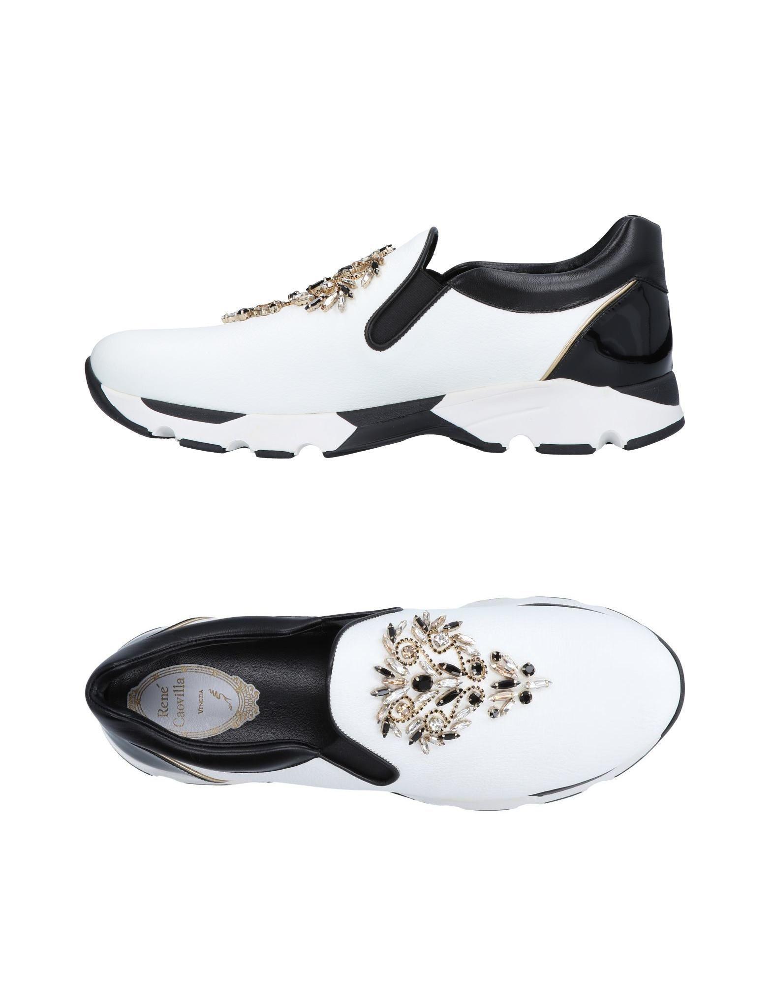 Rene Caovilla. Women's White Low-tops & Sneakers