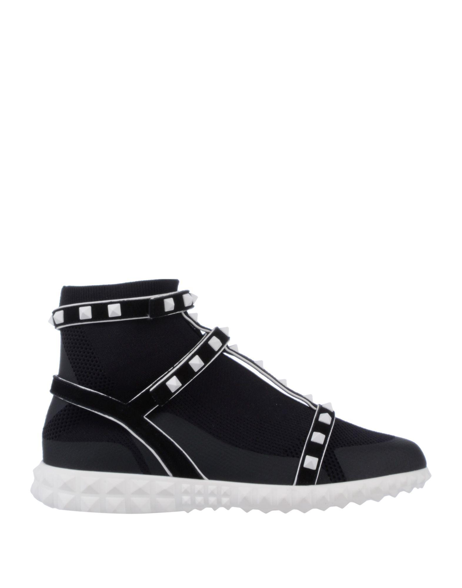28cab5de6344 Valentino - Black High-tops   Sneakers - Lyst. View fullscreen