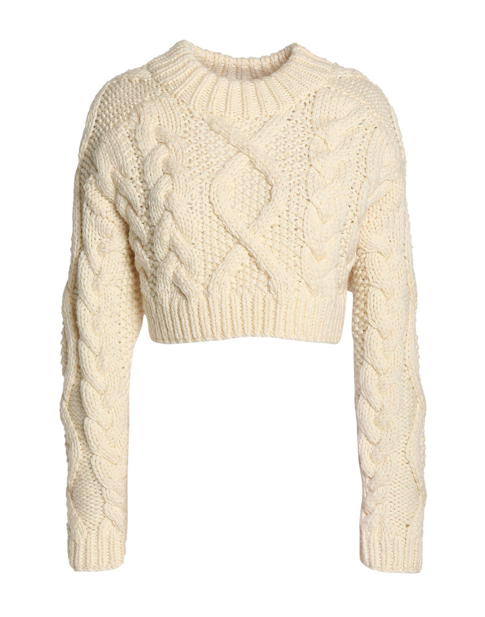 44494cab4af Lyst - DKNY Sweater in White