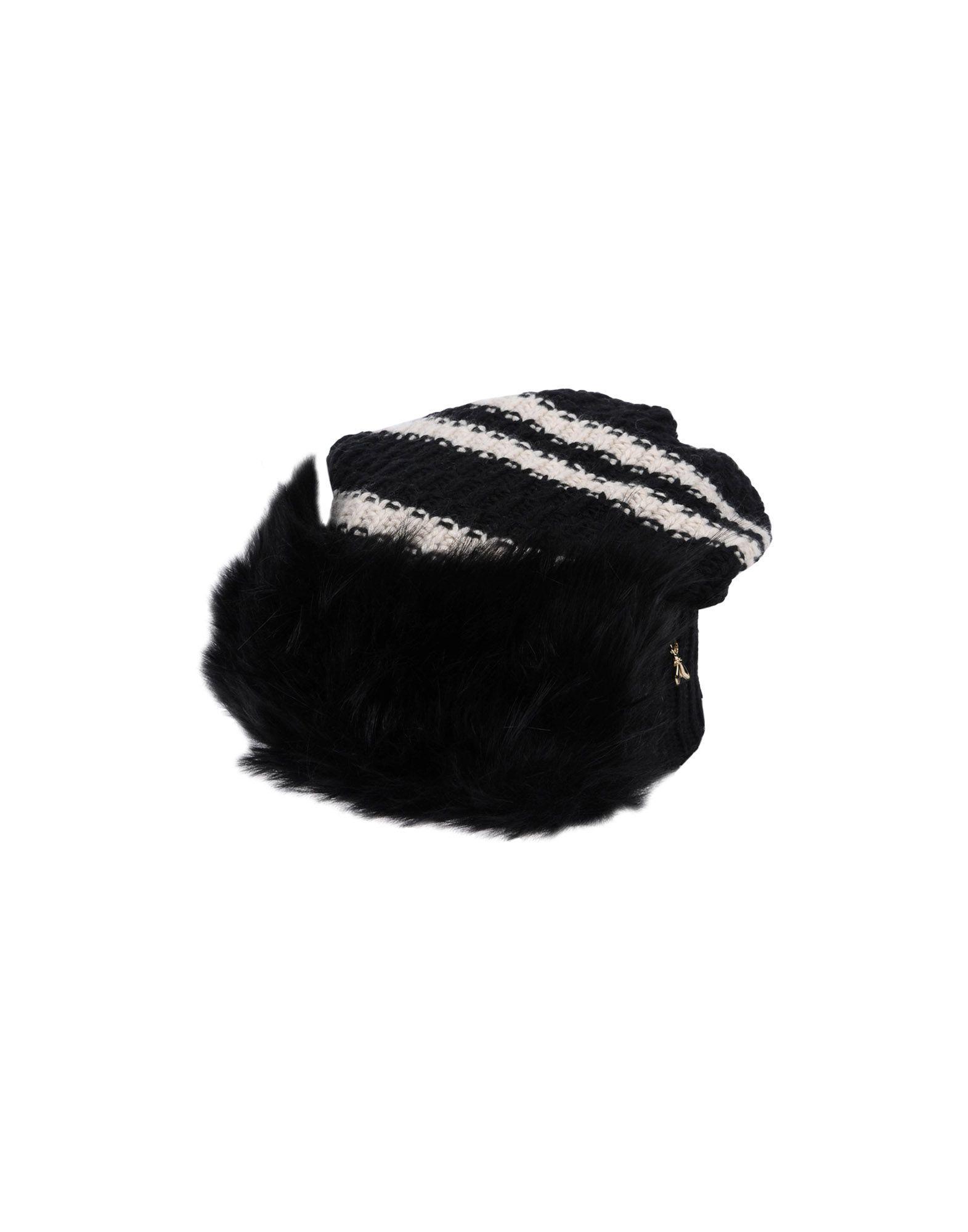 Patrizia Pepe Hat in Black - Lyst 8511f31af1ff