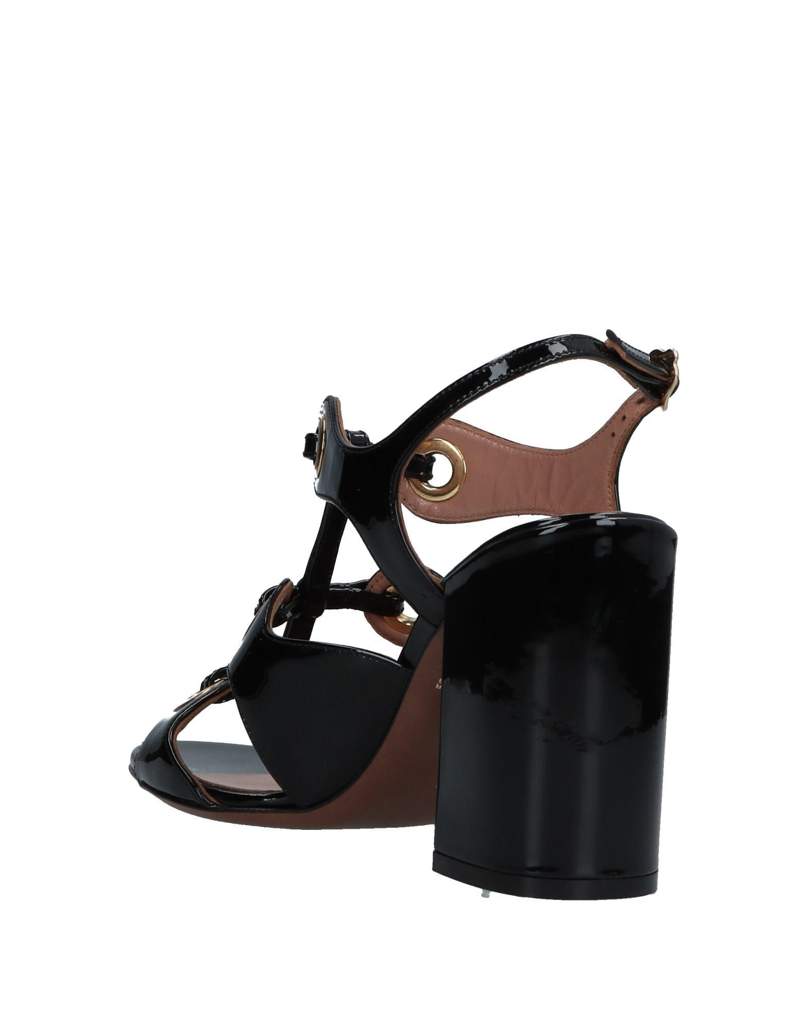 d58206f62f3ad L Autre Chose Sandals in Black - Lyst