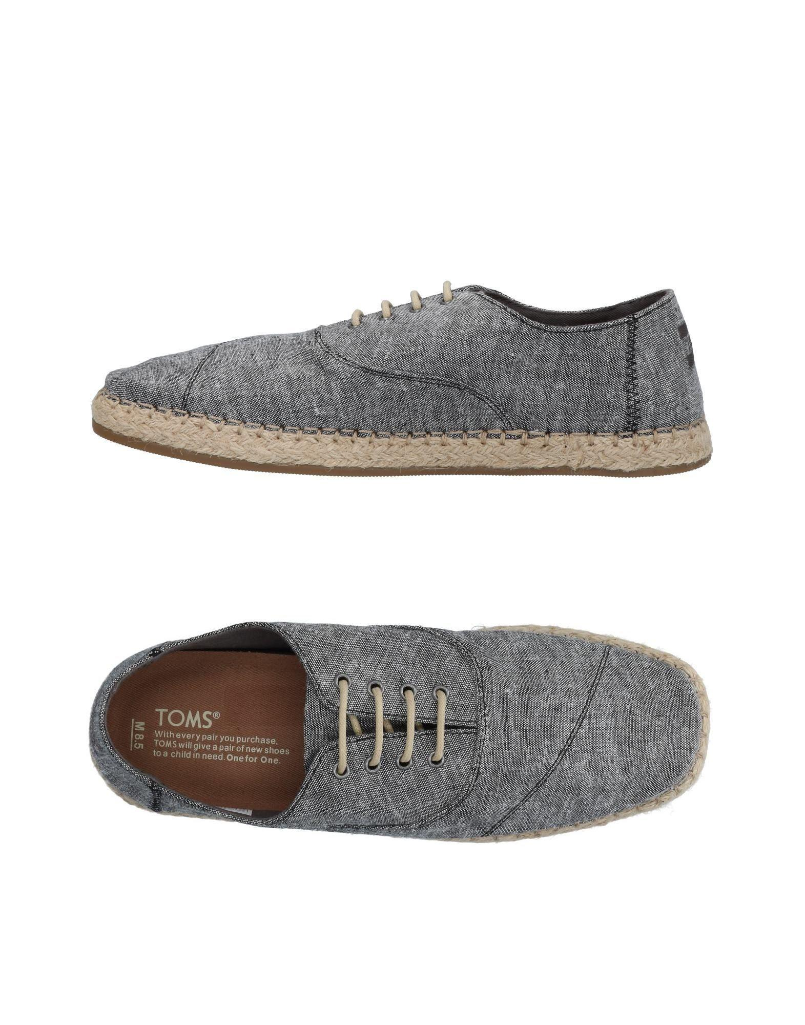 fa82abba1cd Lyst - Toms Lace-up Shoe in Gray for Men