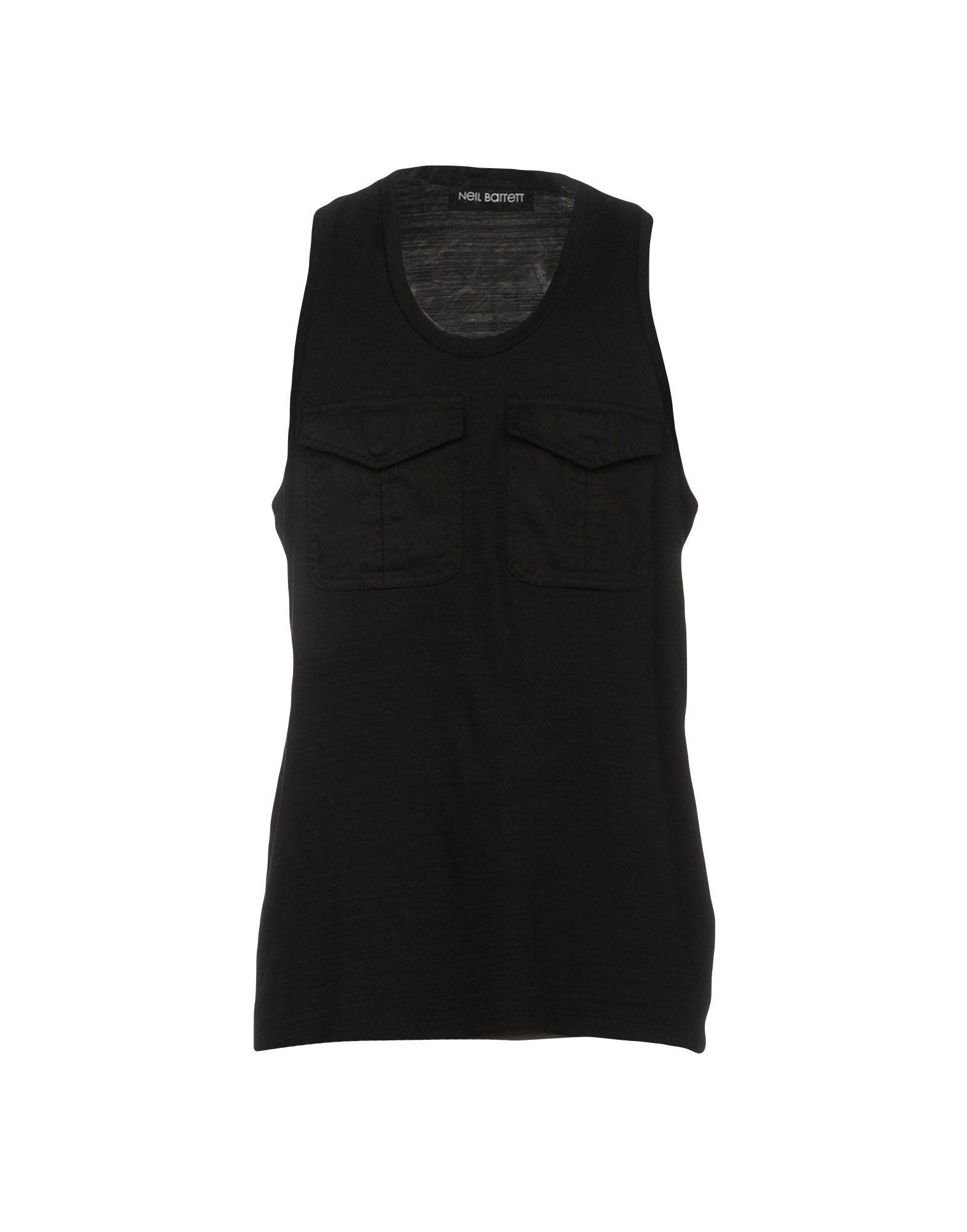 9991150d9c Lyst - Neil Barrett Vest in Black