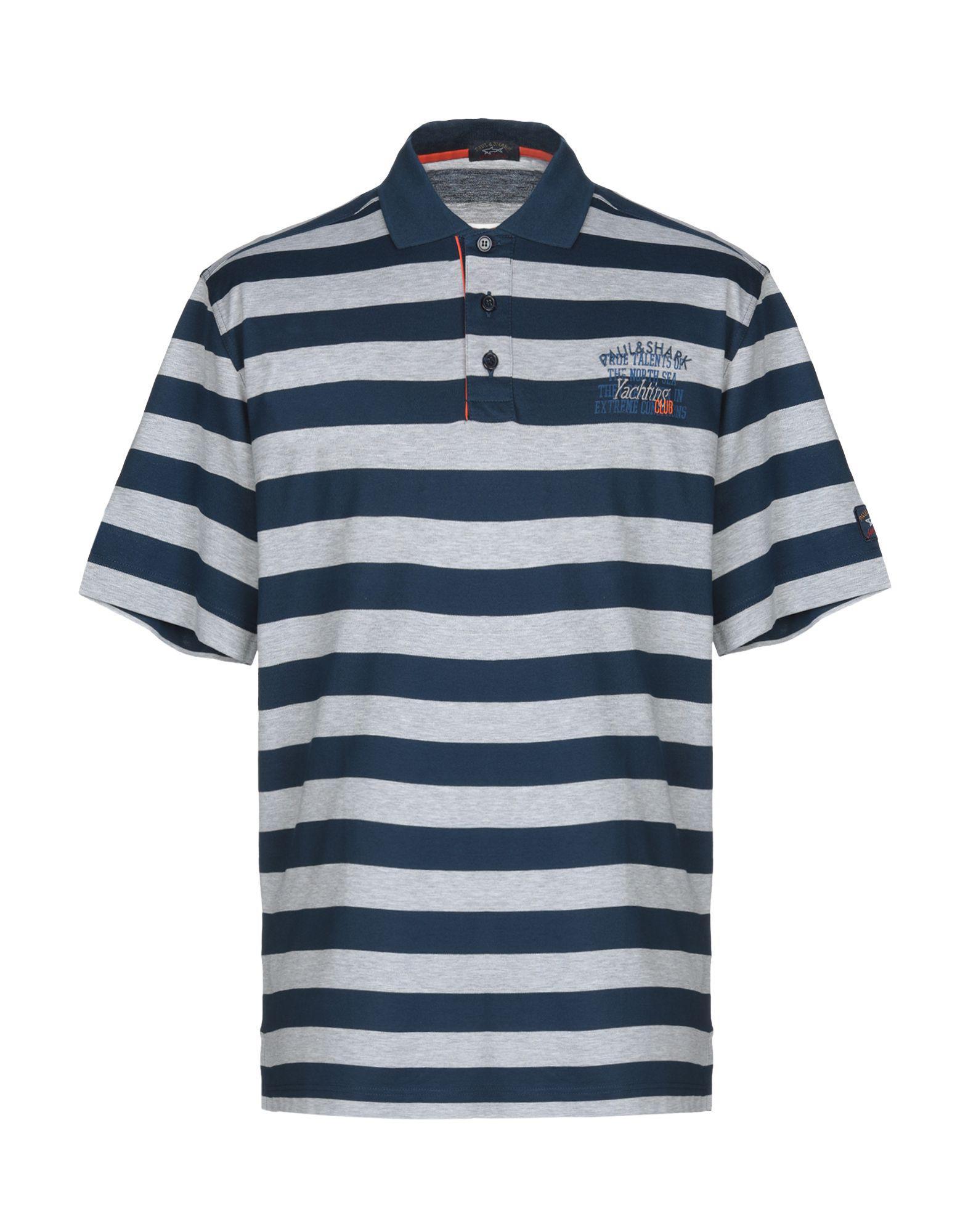 91fdd17e Paul & Shark Polo Shirt in Gray for Men - Lyst