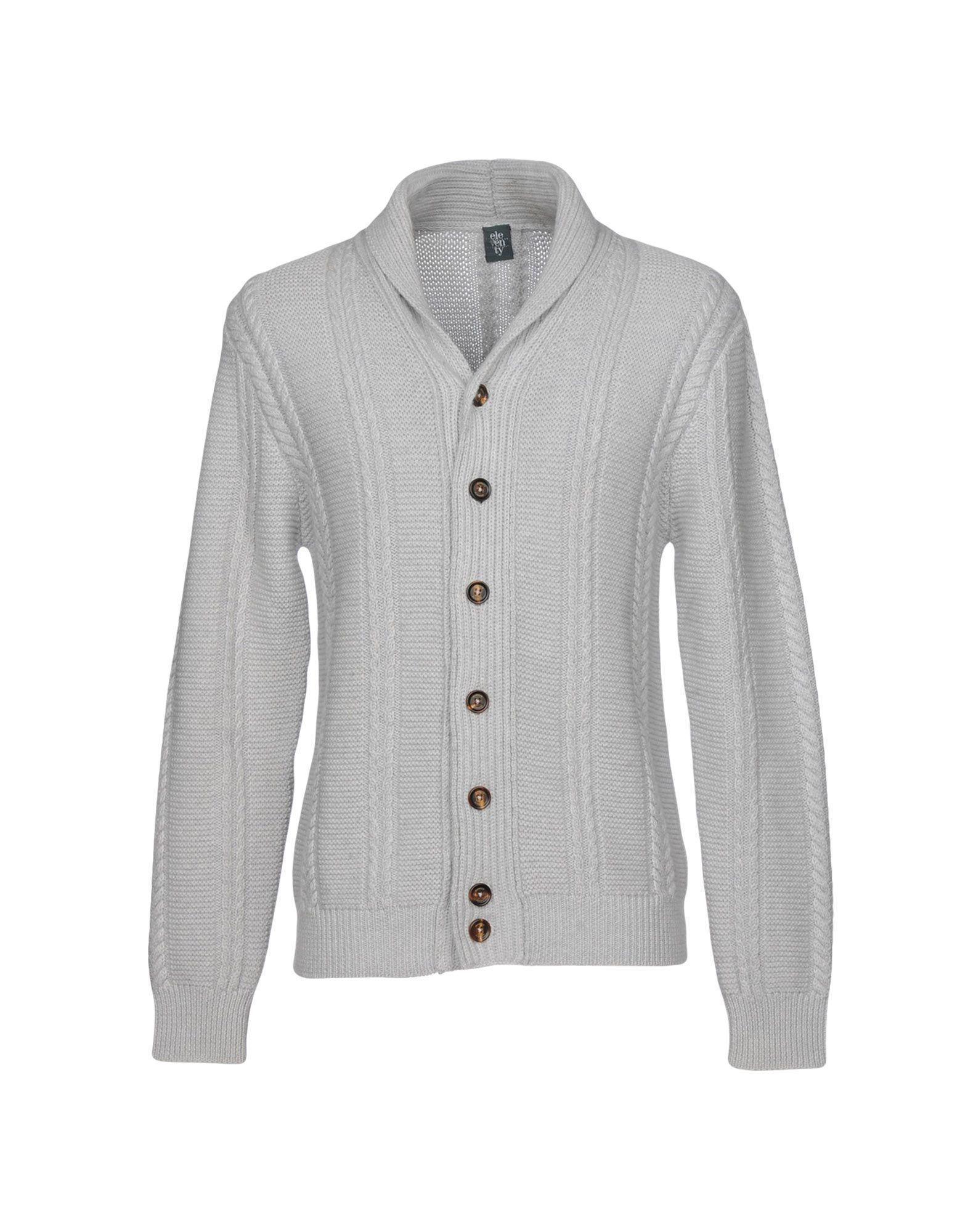 Many Kinds Of Sale Online Latest Sale Online Cashmere cardigan light grey Eleventy Free Shipping Sast cN7fNwH
