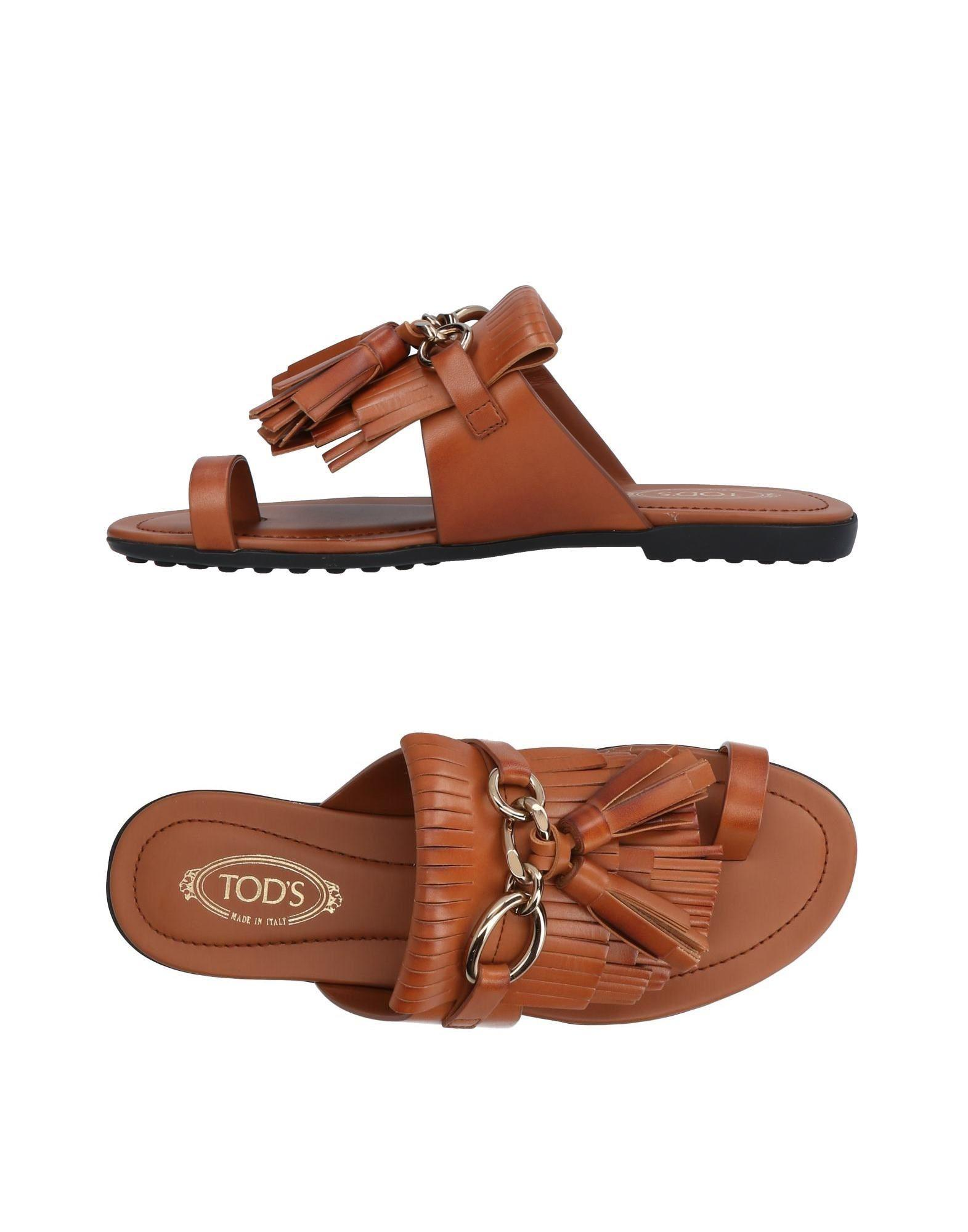 Sandale Avec Dentelle Tod nYDoEGpiIM