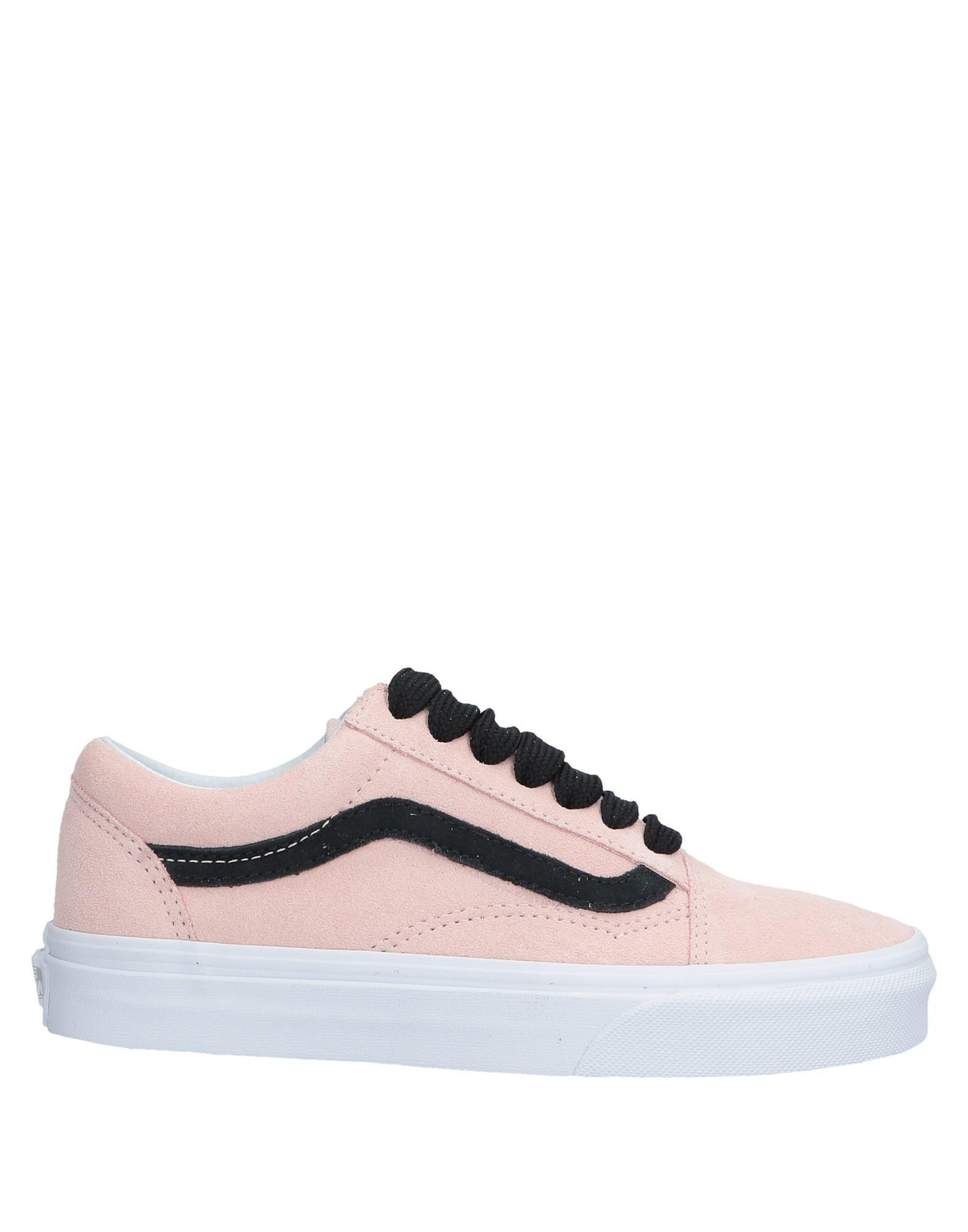 5060a86e0bc17d Lyst - Vans Low-tops   Sneakers in Pink