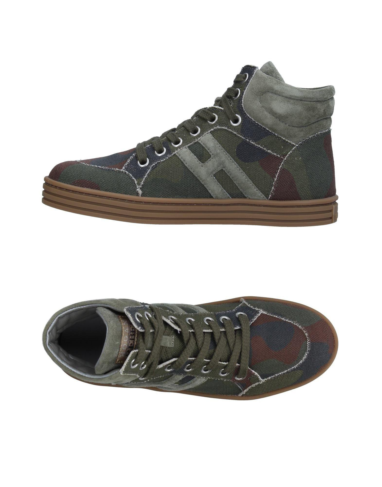 55ceaa24567 Lyst - Hogan Rebel High-tops   Sneakers in Green for Men