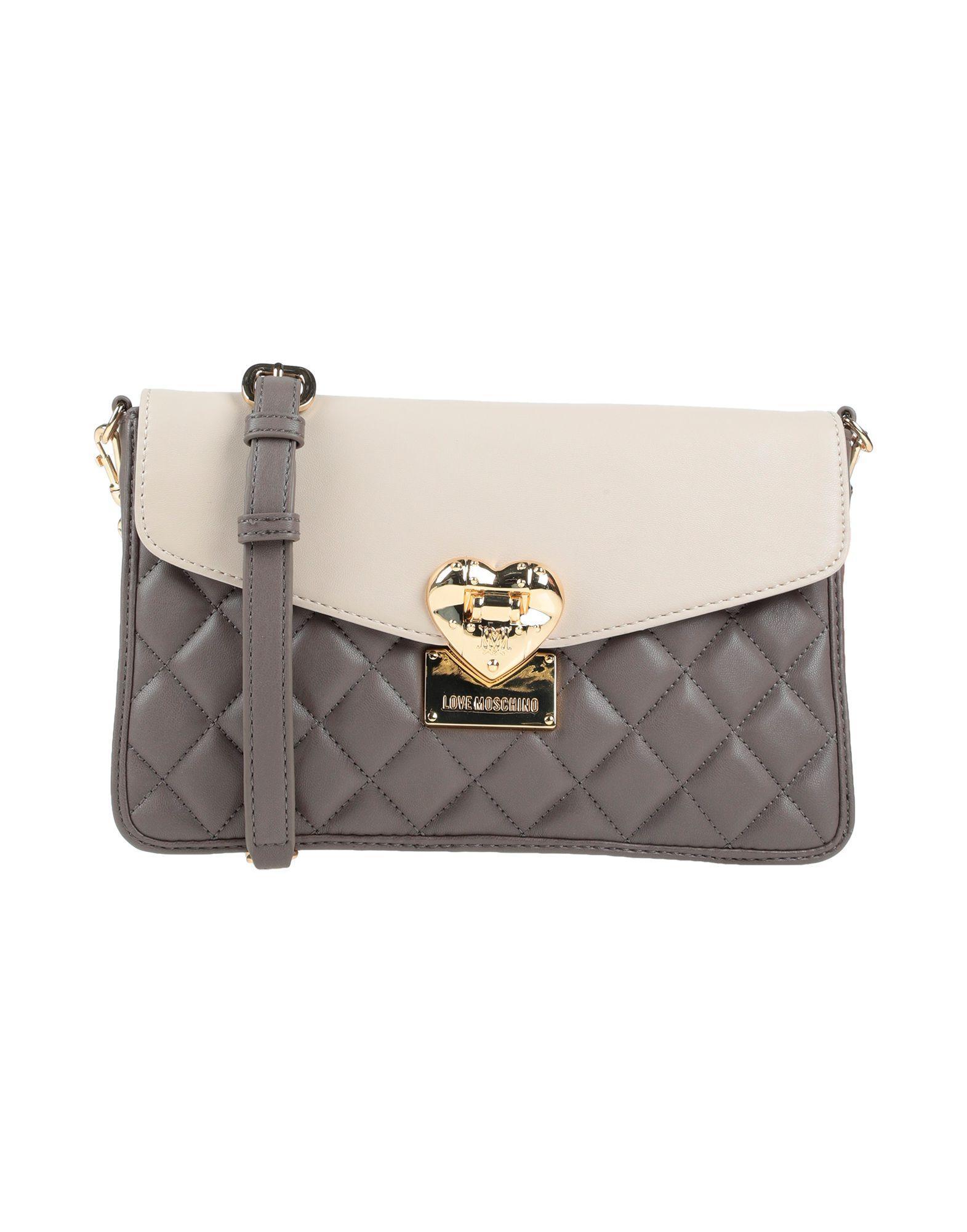 aab78826b67 Love Moschino - Gray Cross-body Bag - Lyst. View fullscreen