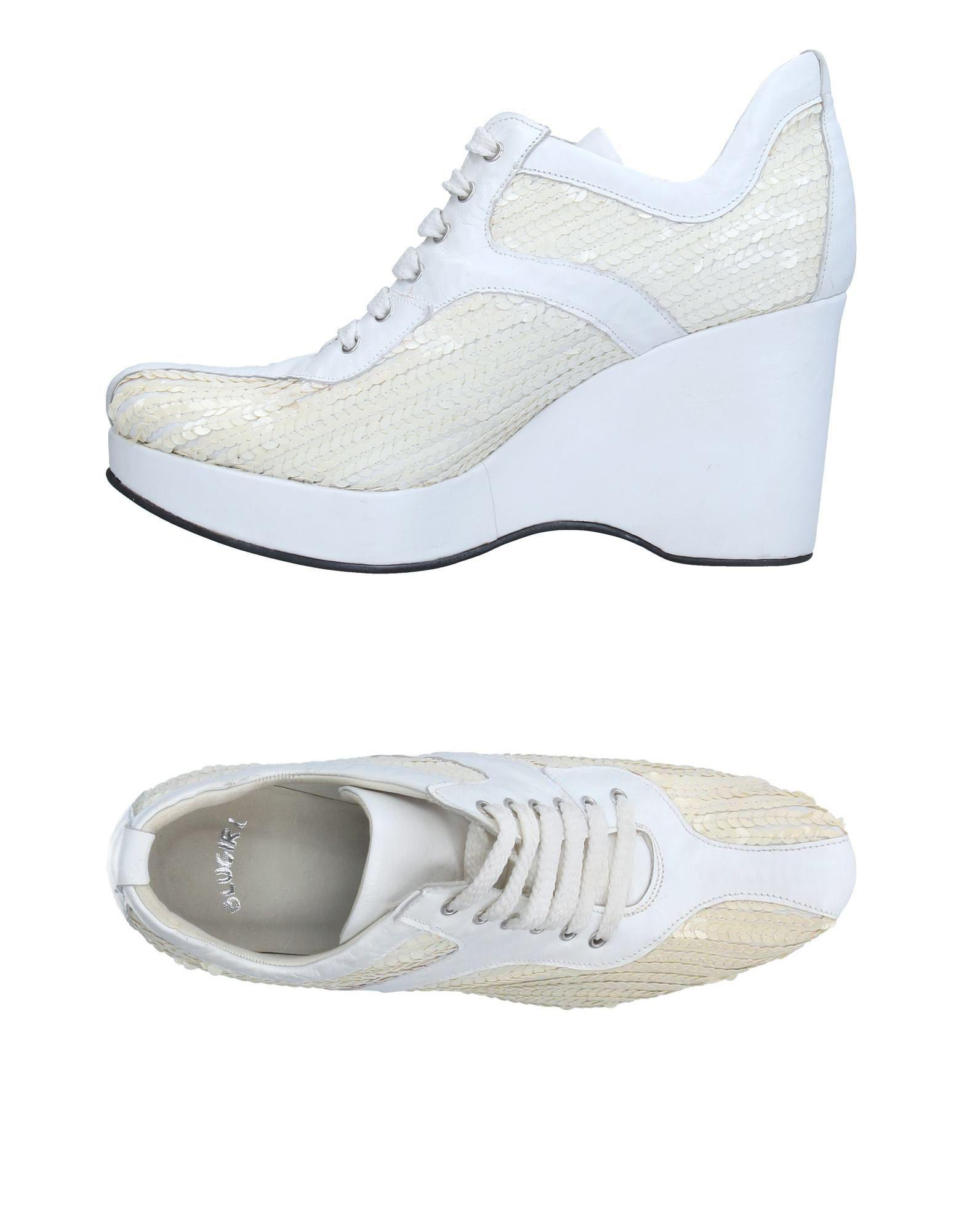 Blumarine Bas Chaussures Montantes - Gris vcnwcXHtzJ