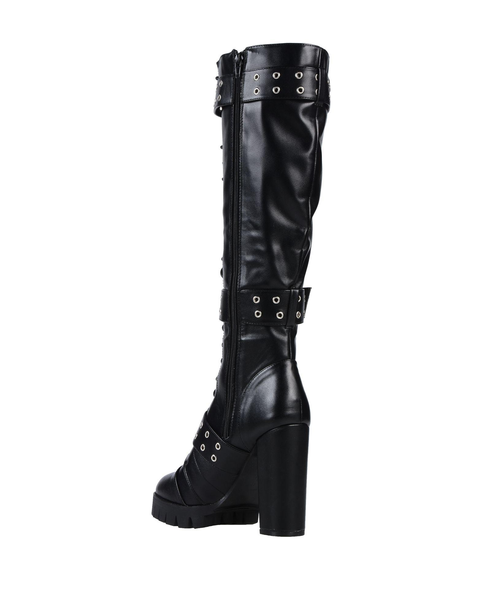 09a0b6e3e8e9 Lyst - Lost Ink Boots in Black