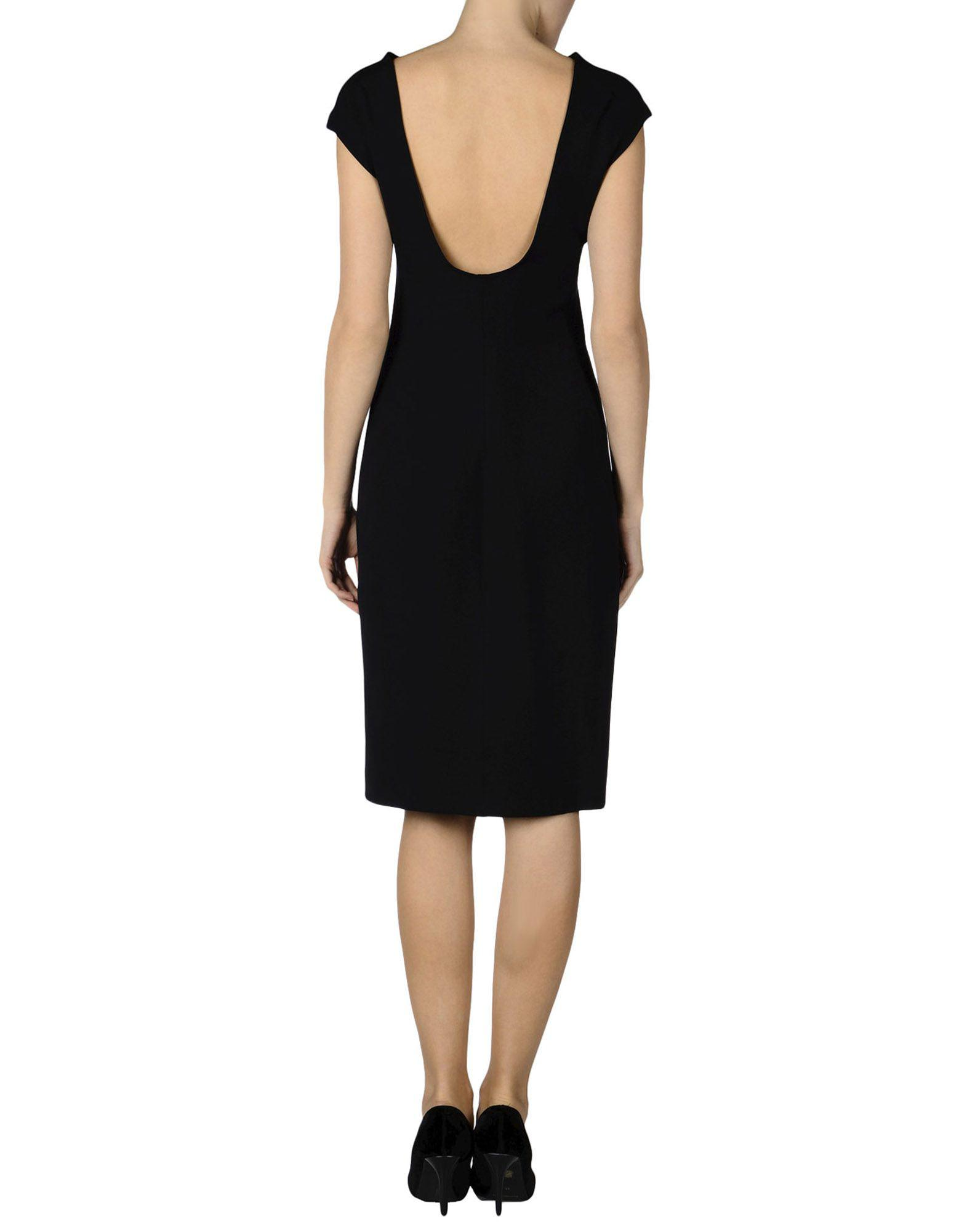 Knee Lyst Dress The Row Length Black In 0Ew4OE8q