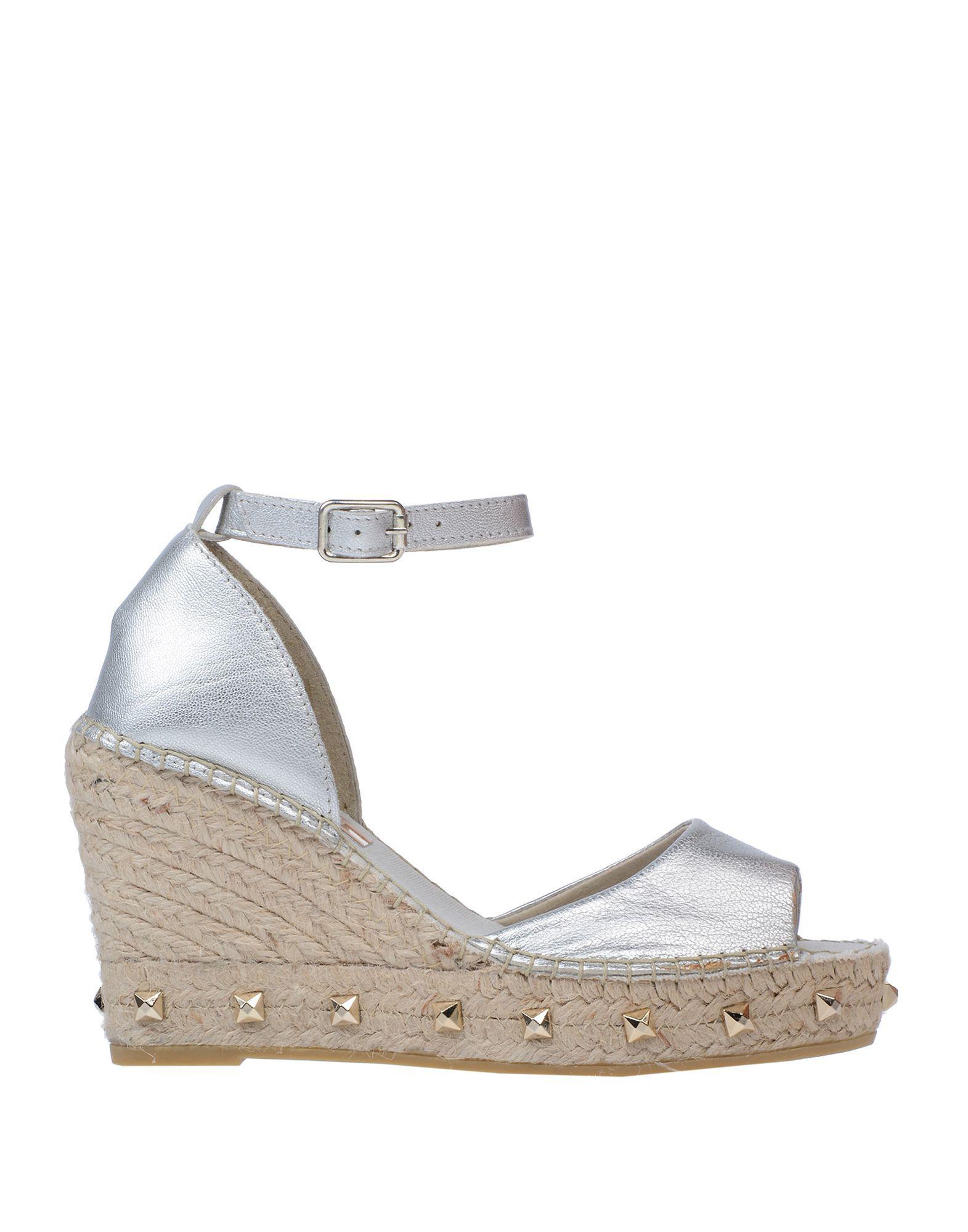 1dbe59d69efbb Lyst - Vidorreta Sandals in Metallic