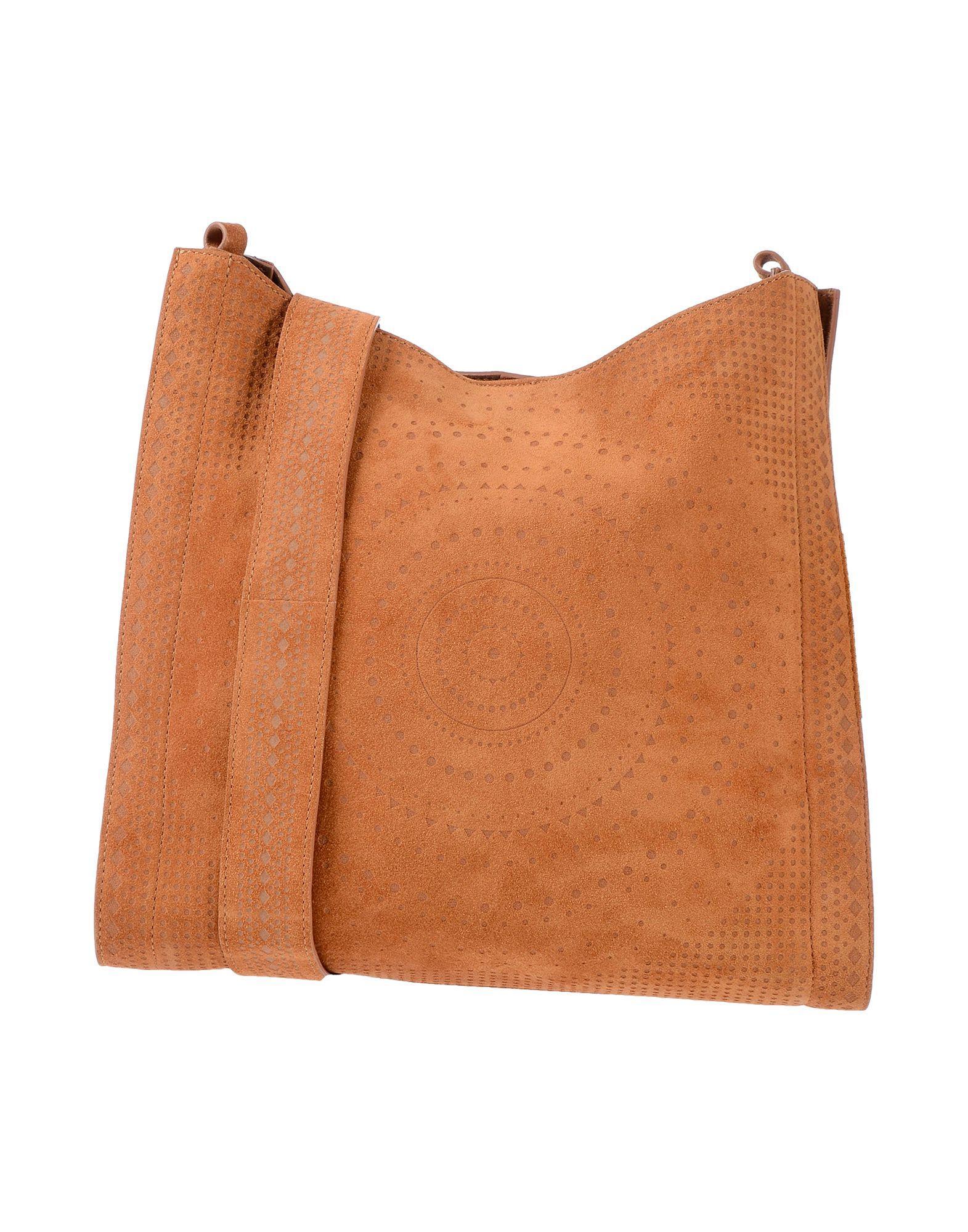 Body Orciani Bag Cross Brown In Lyst qHTwC