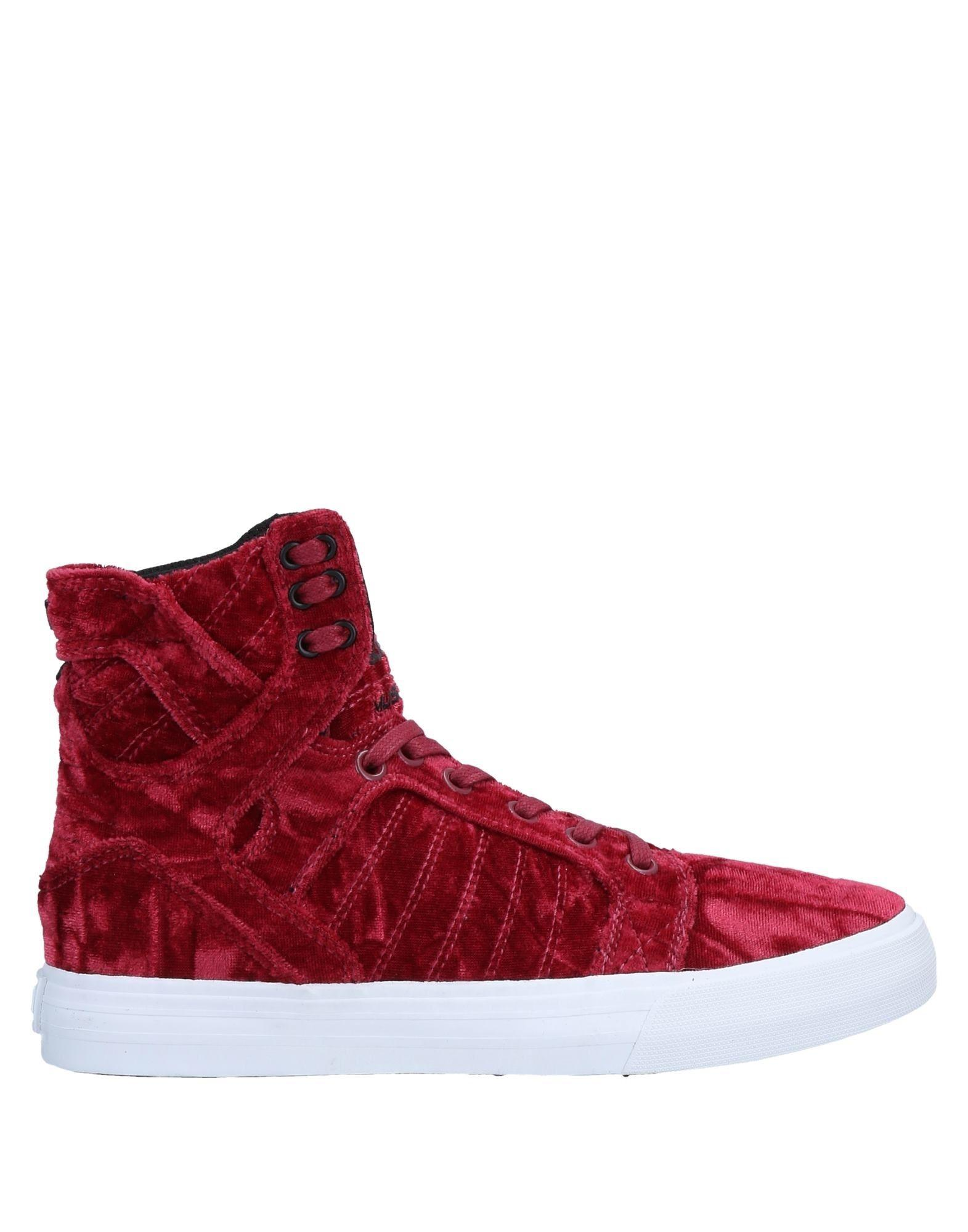 bf10fd2d8785 Supra High-tops   Sneakers in Red - Lyst