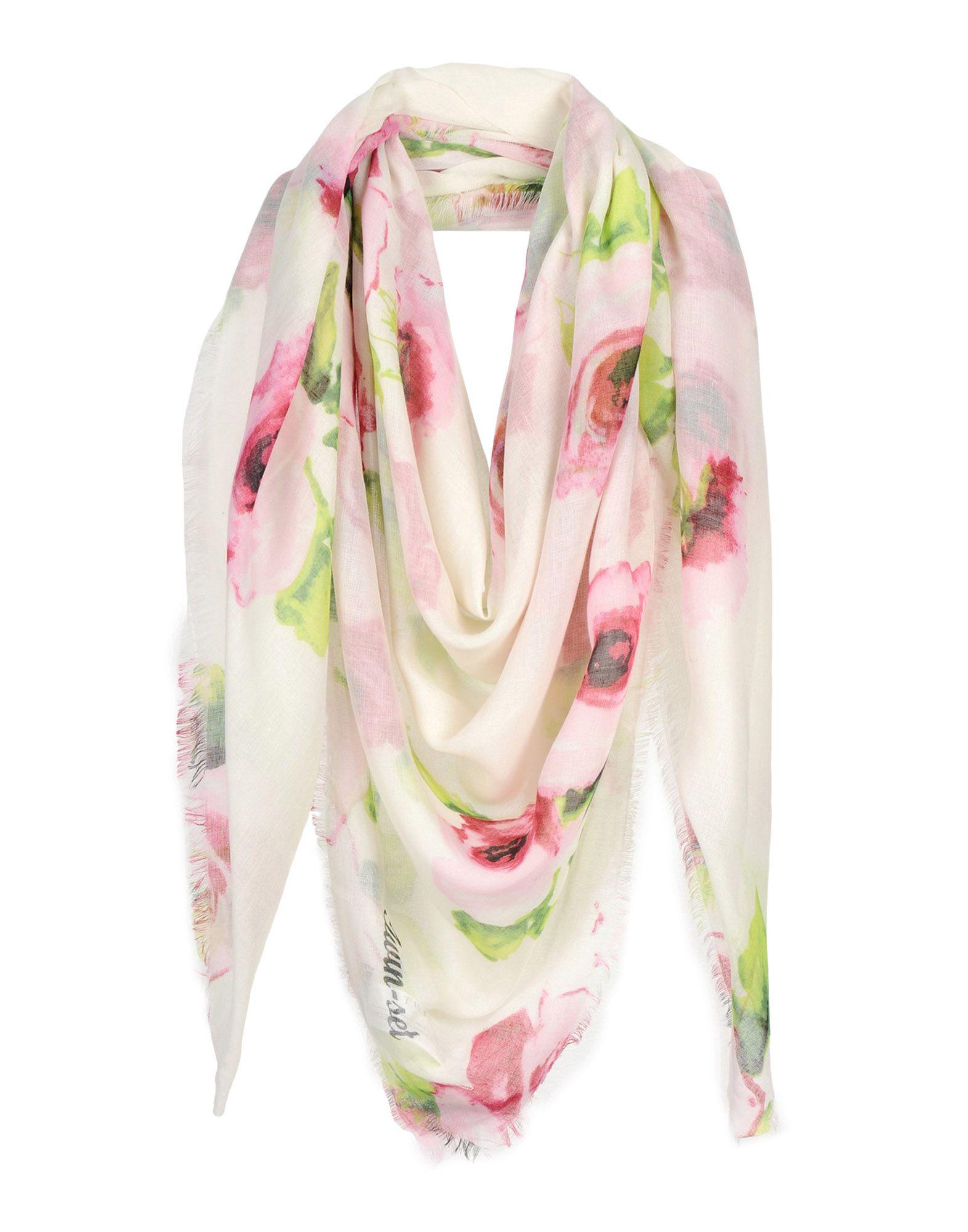 ede1ed92a304 Lyst - Twin Set Scarf in Green