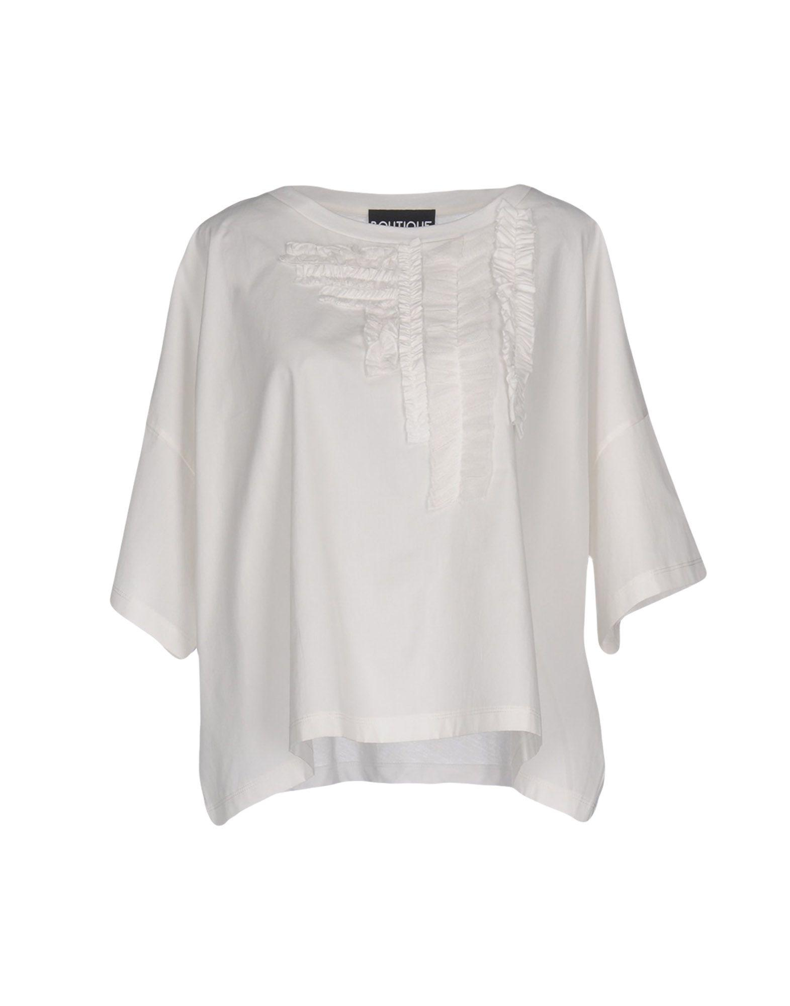 5a0f91c55c9b7 Boutique Moschino Blouse in White - Lyst