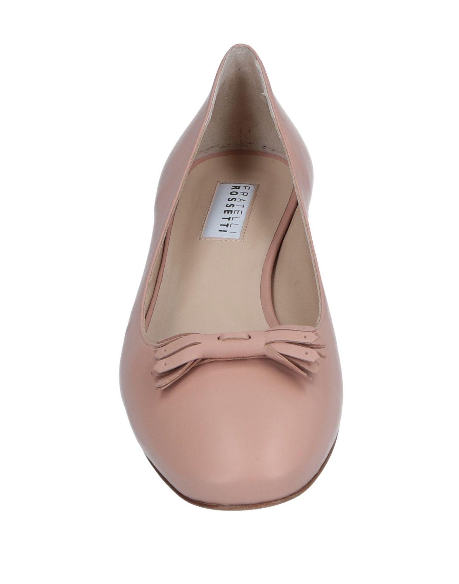 7b0559da1 Fratelli Rossetti - Pink Ballet Flats - Lyst. View fullscreen