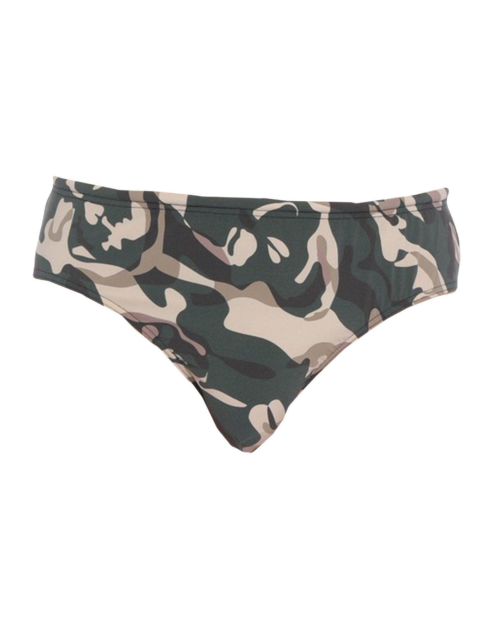 484384d785 Alexander McQueen Swim Brief in Green for Men - Lyst