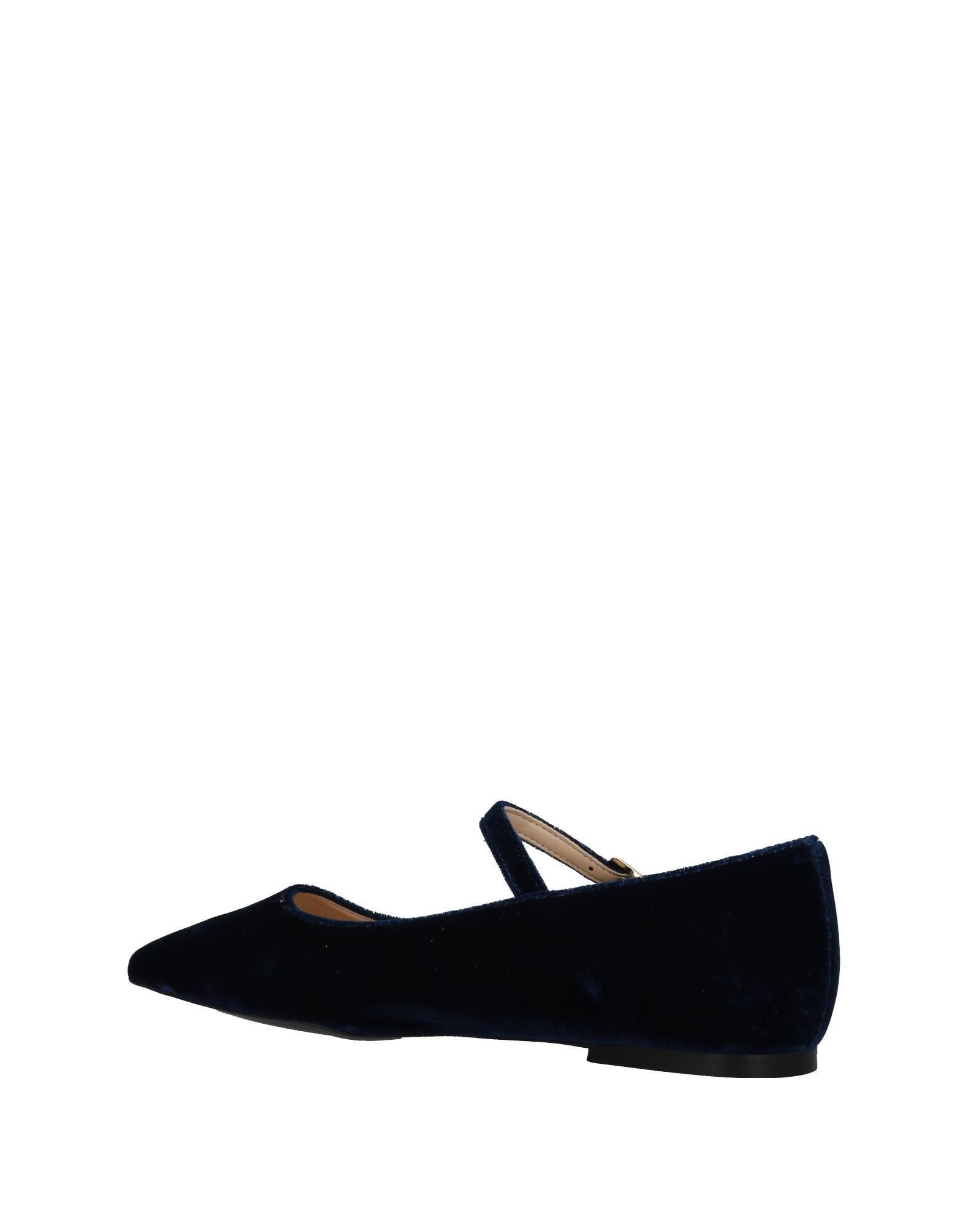 d174d255333 Vicolo Ballet Flats in Blue - Lyst