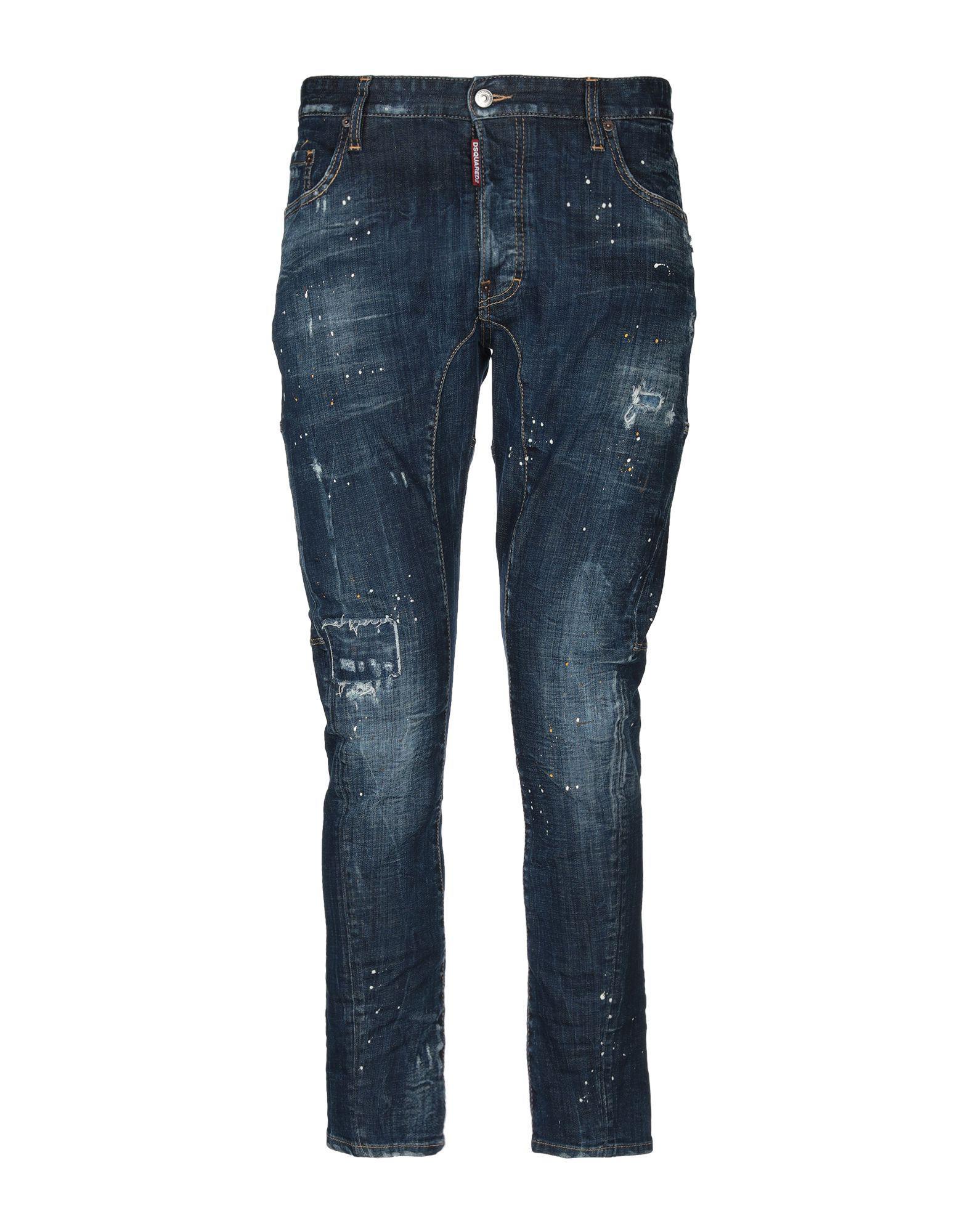f1146f0d5be Lyst - Pantalon en jean DSquared² pour homme en coloris Bleu