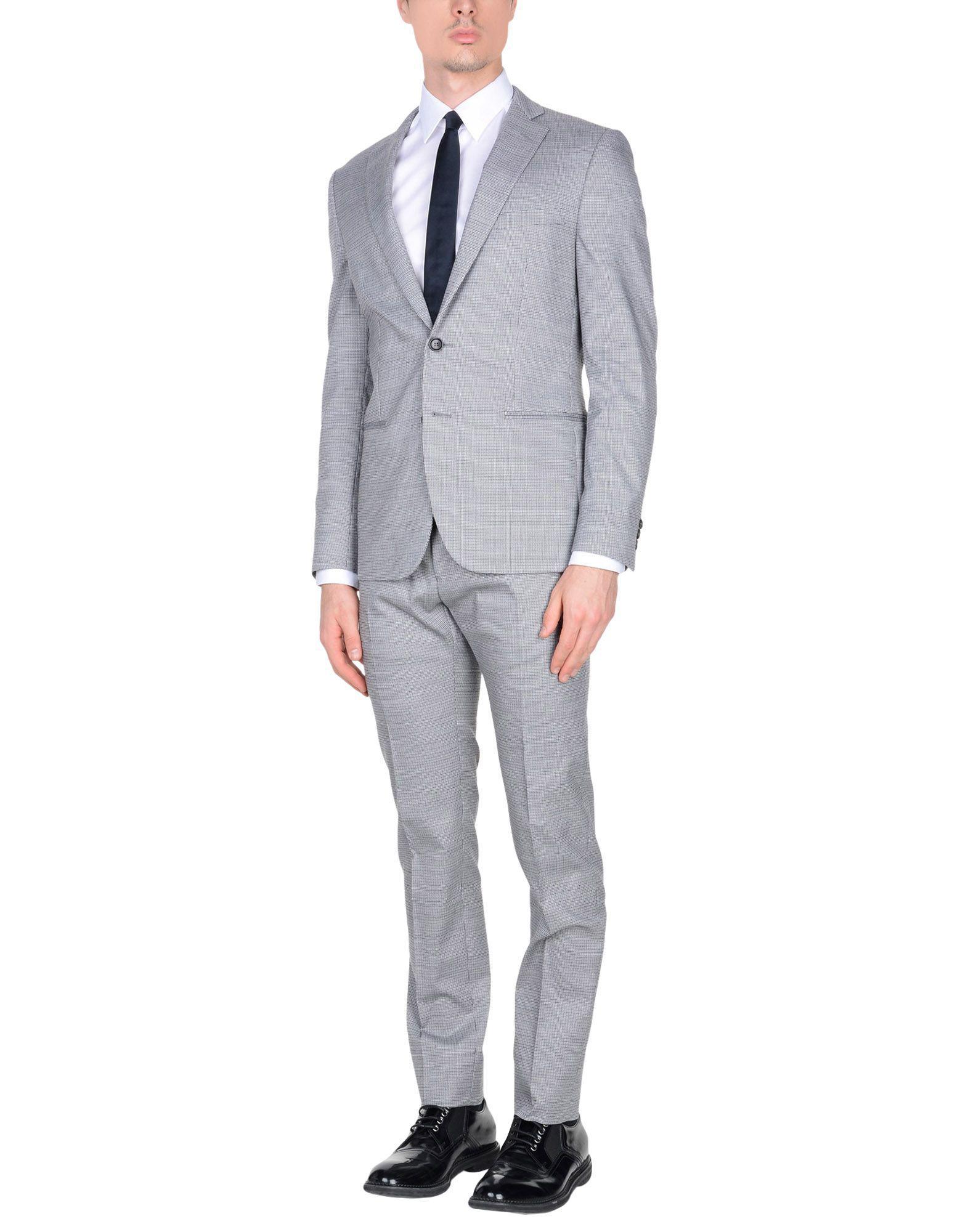 Lyst - Costume Tonello pour homme en coloris Gris 152ab364016