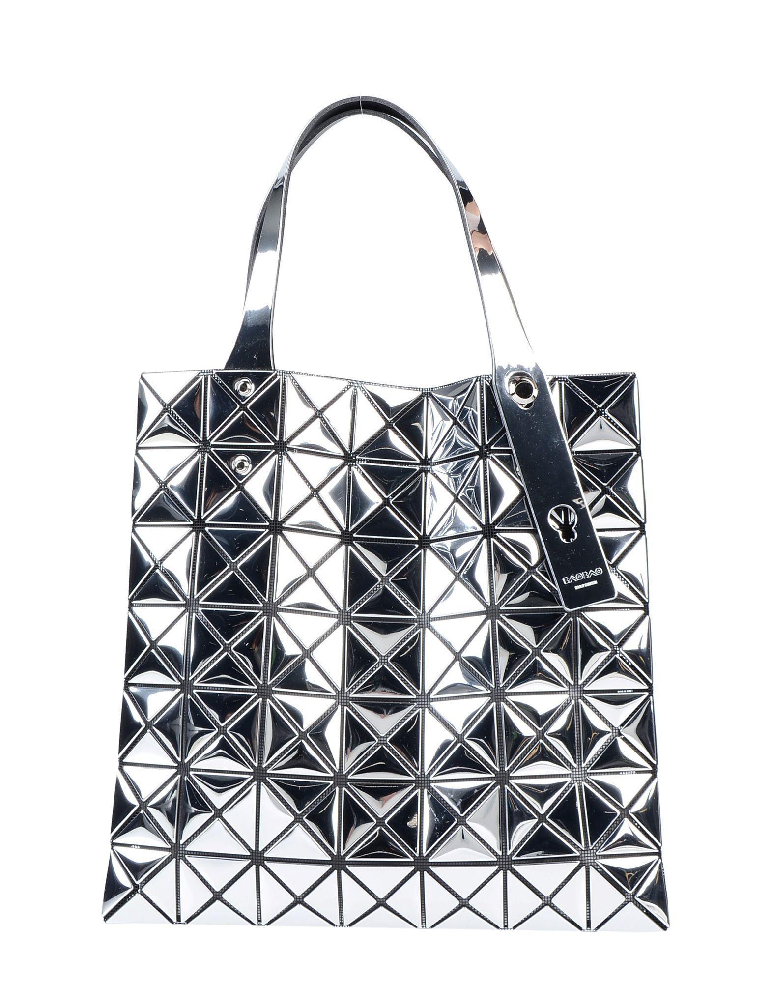 fc5f6ecd3c Bao Bao Issey Miyake Handbag in Metallic - Lyst