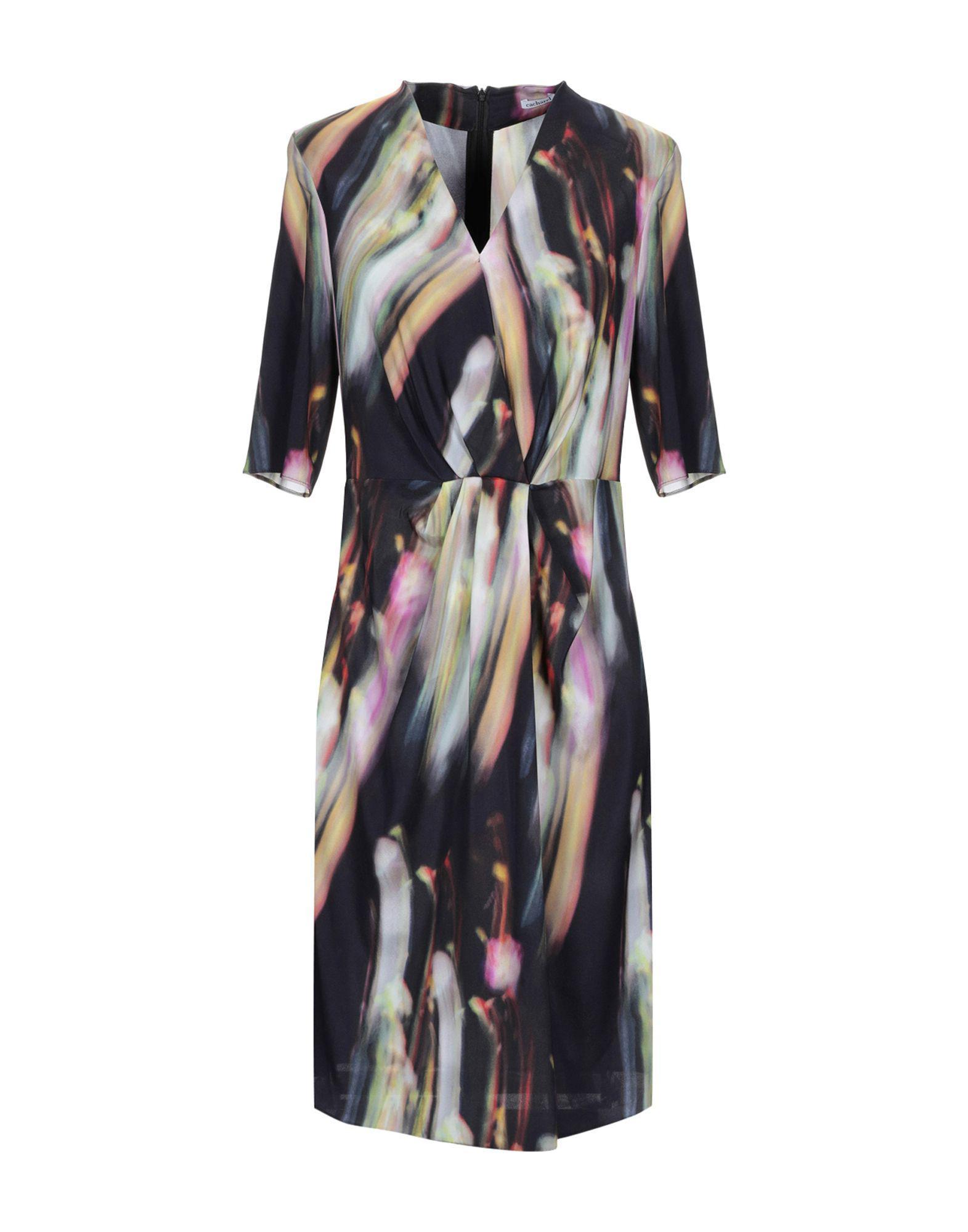 Cacharel Lyst Length Dress Purple Knee In rYqCrw86