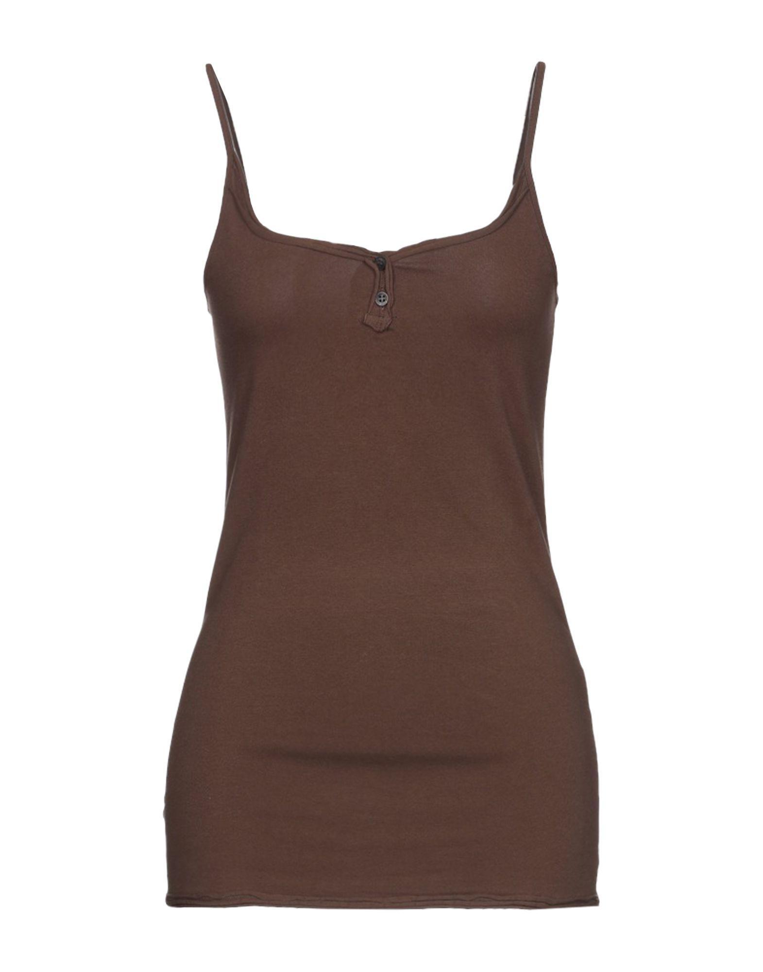 d6732ce6eb6 Doralice - Brown Top - Lyst. View fullscreen