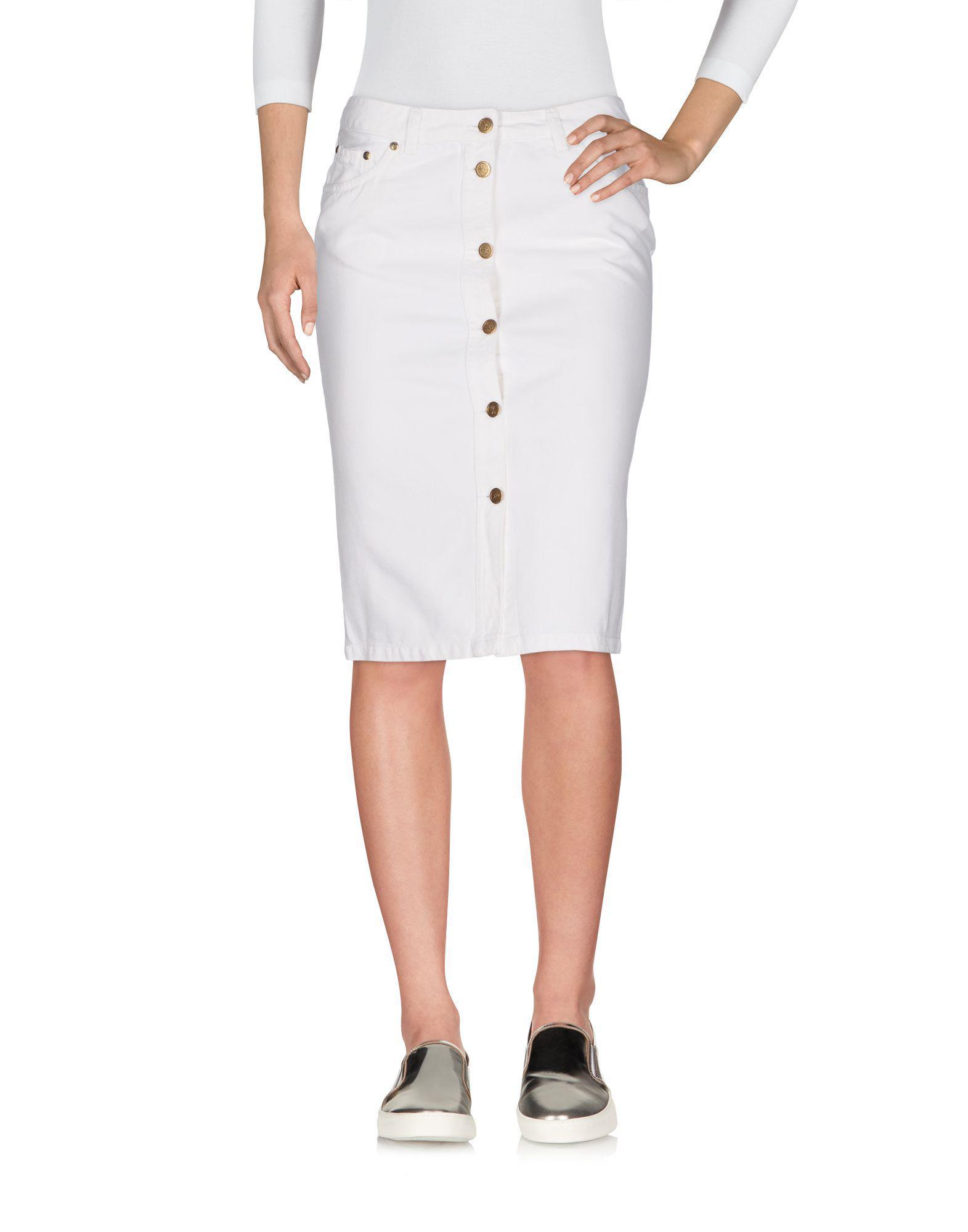 Cheapest Cheap Online DENIM - Denim skirts Roberta Di Camerino Low Price Free Shipping Excellent Multi Coloured J4hgF81NA