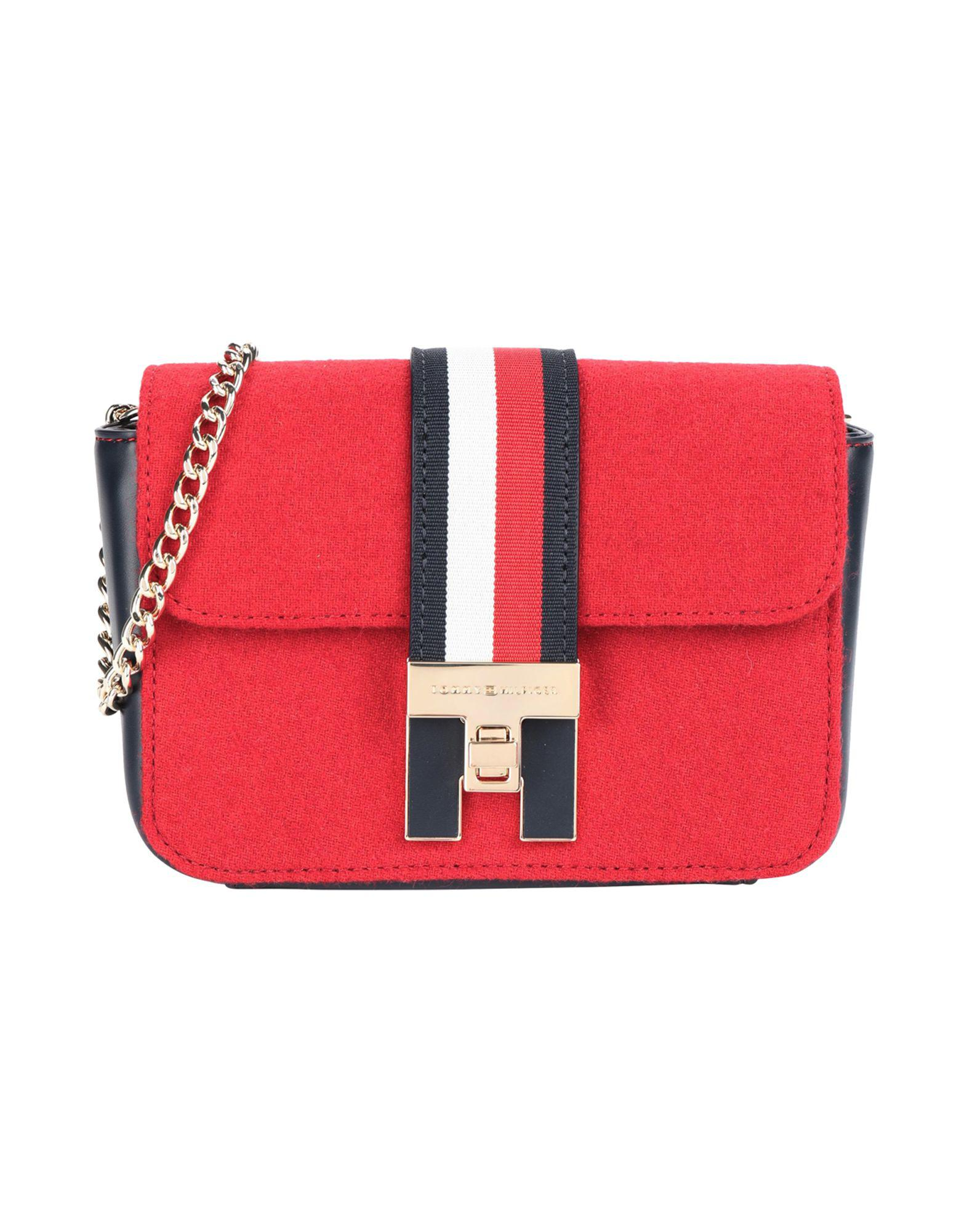 508f34c27b2 Tommy Hilfiger Cross-body Bag in Red - Lyst