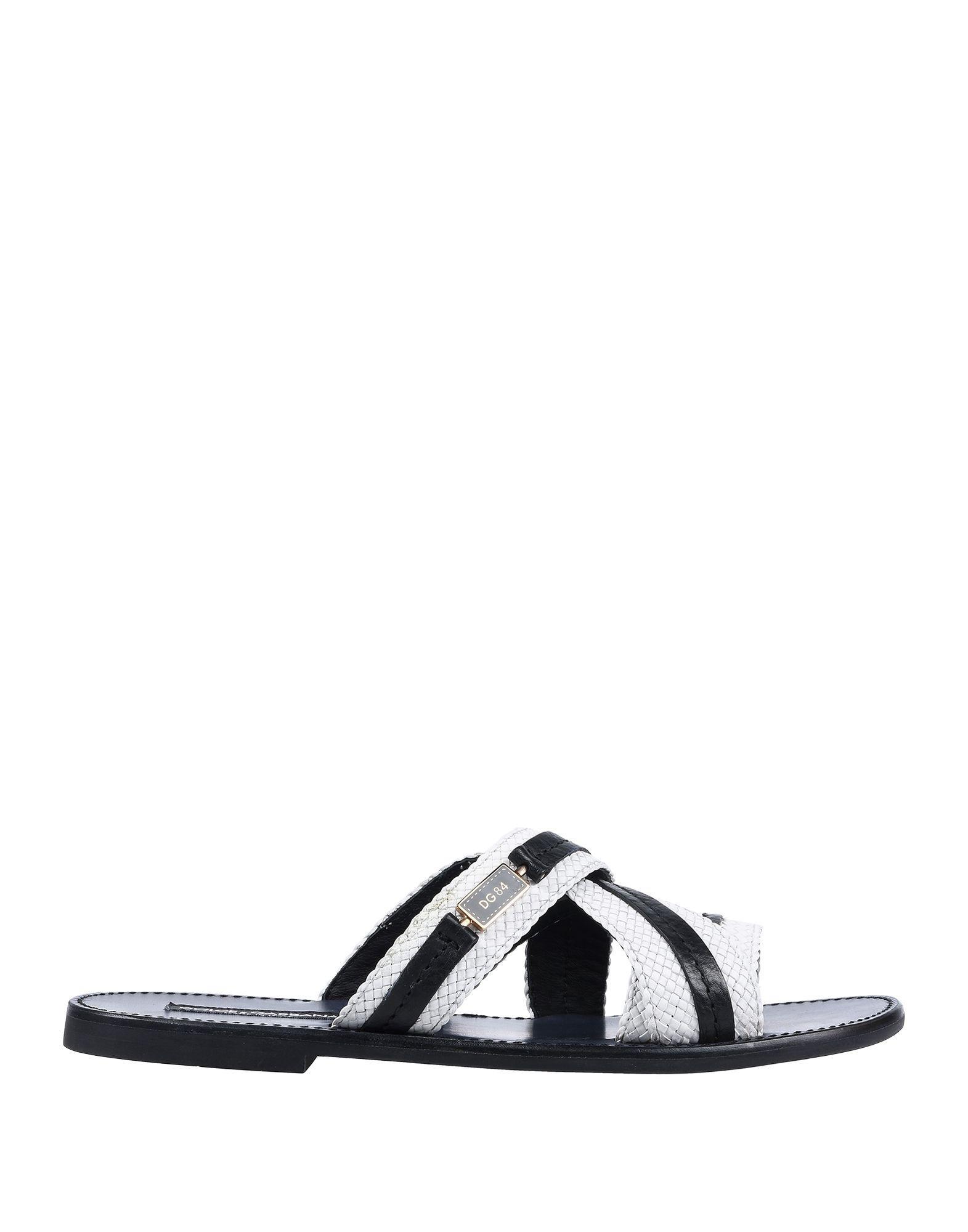 Dolceamp; Hombre Blanco Sandalias Gabbana De Color Lyst qMSVpzU