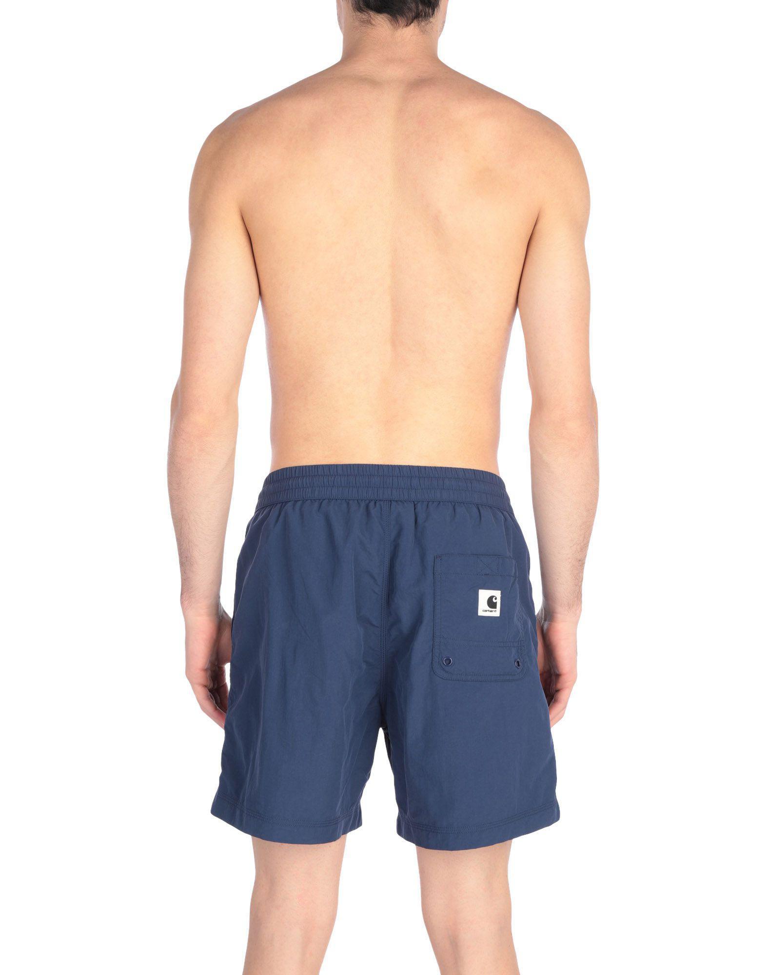 323141e42f07d Carhartt Swim Trunks in Blue for Men - Lyst