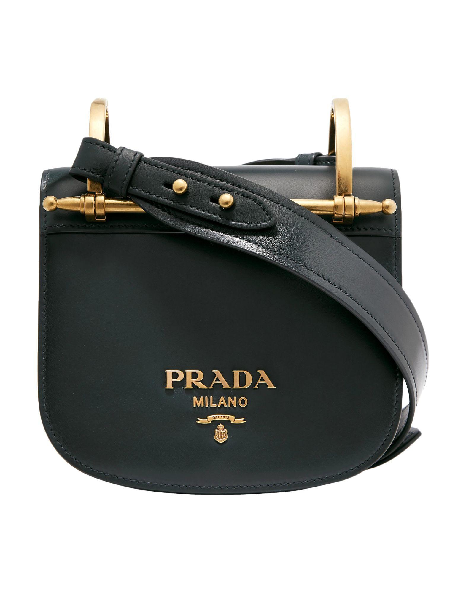 09493bd49f02fc Prada - Green Cross-body Bag - Lyst. View fullscreen