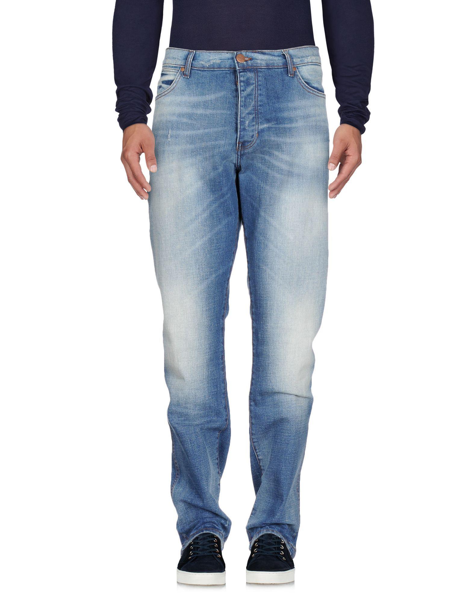 ebb5552ebbb Lyst - Pantalon en jean Wrangler pour homme en coloris Bleu