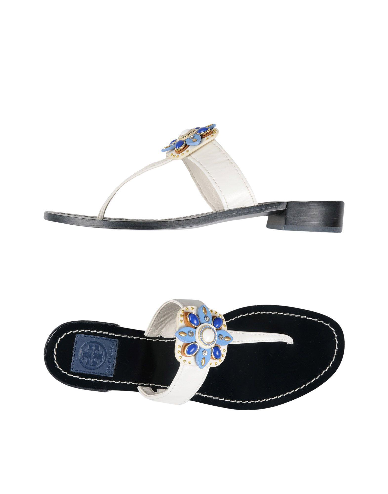 FOOTWEAR - Toe post sandals Tory Burch flatWObQO