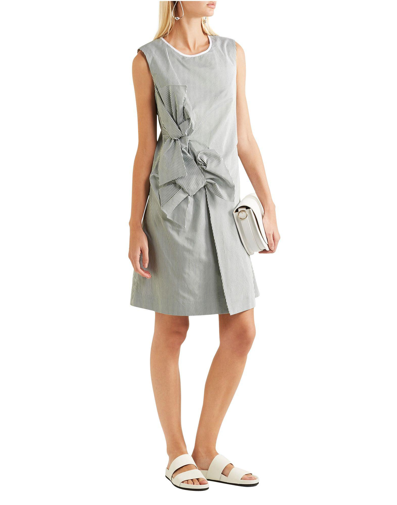 df0925b787be Victoria, Victoria Beckham Short Dress in Green - Save 47% - Lyst
