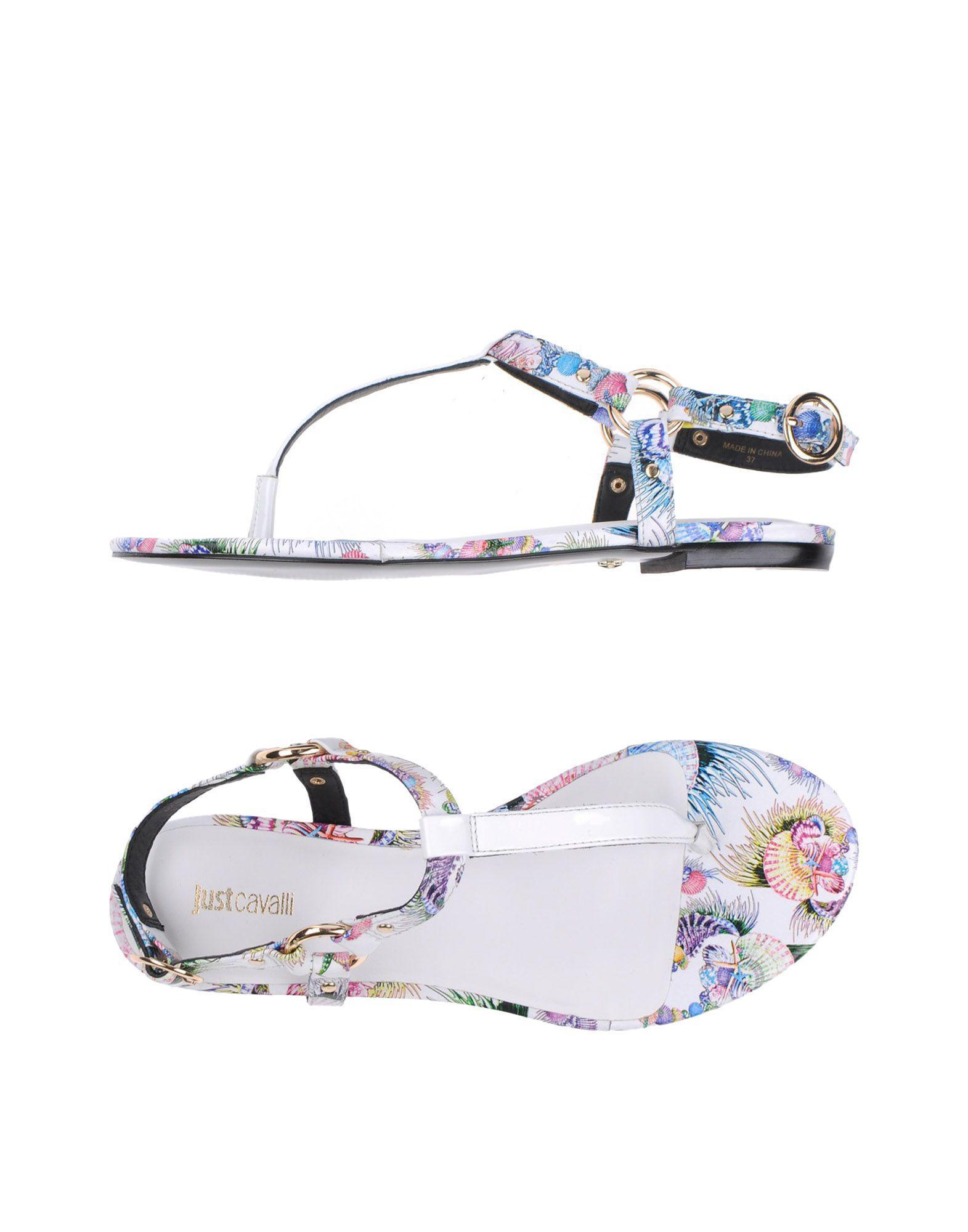 FOOTWEAR - Toe post sandals Just Cavalli GF1pxwyHsW