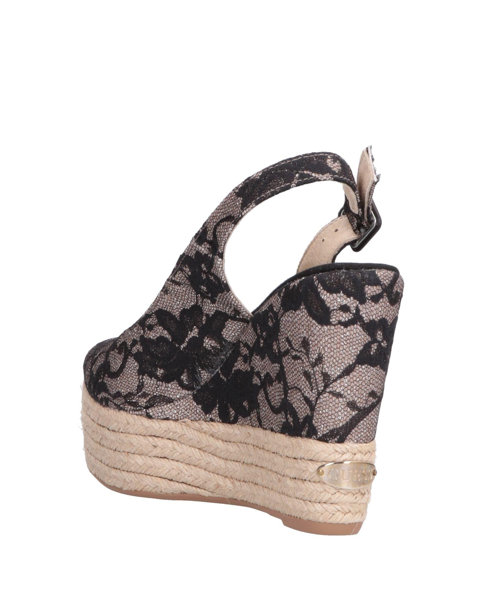 adc8e6bdad446a Guess Sandals in Black - Lyst