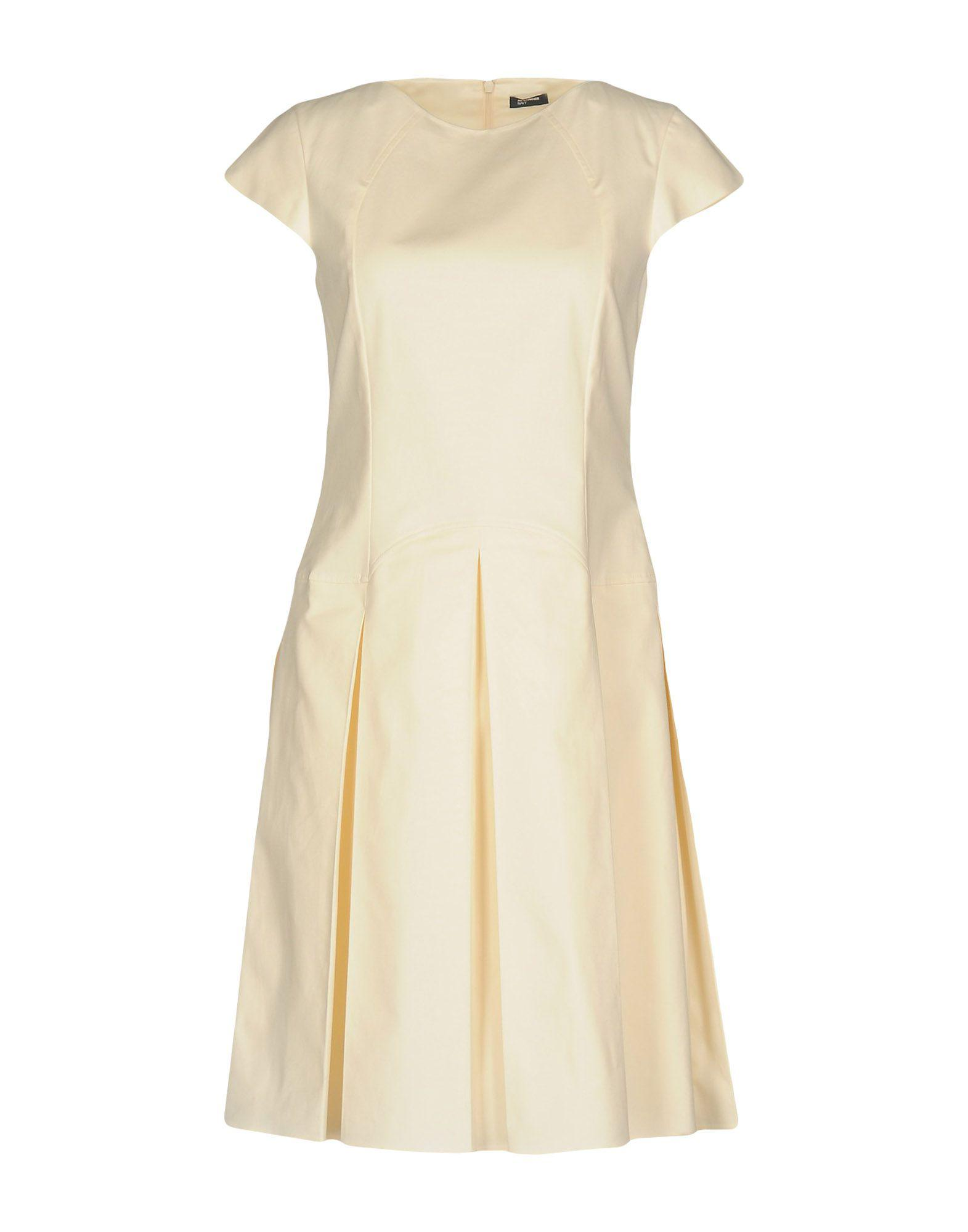 Jil Sander Navy Sleeveless Knee-Length Dress Discount Pick A Best Free Shipping Low Price Big Sale Cheap Online Outlet Visit cG7BtF4