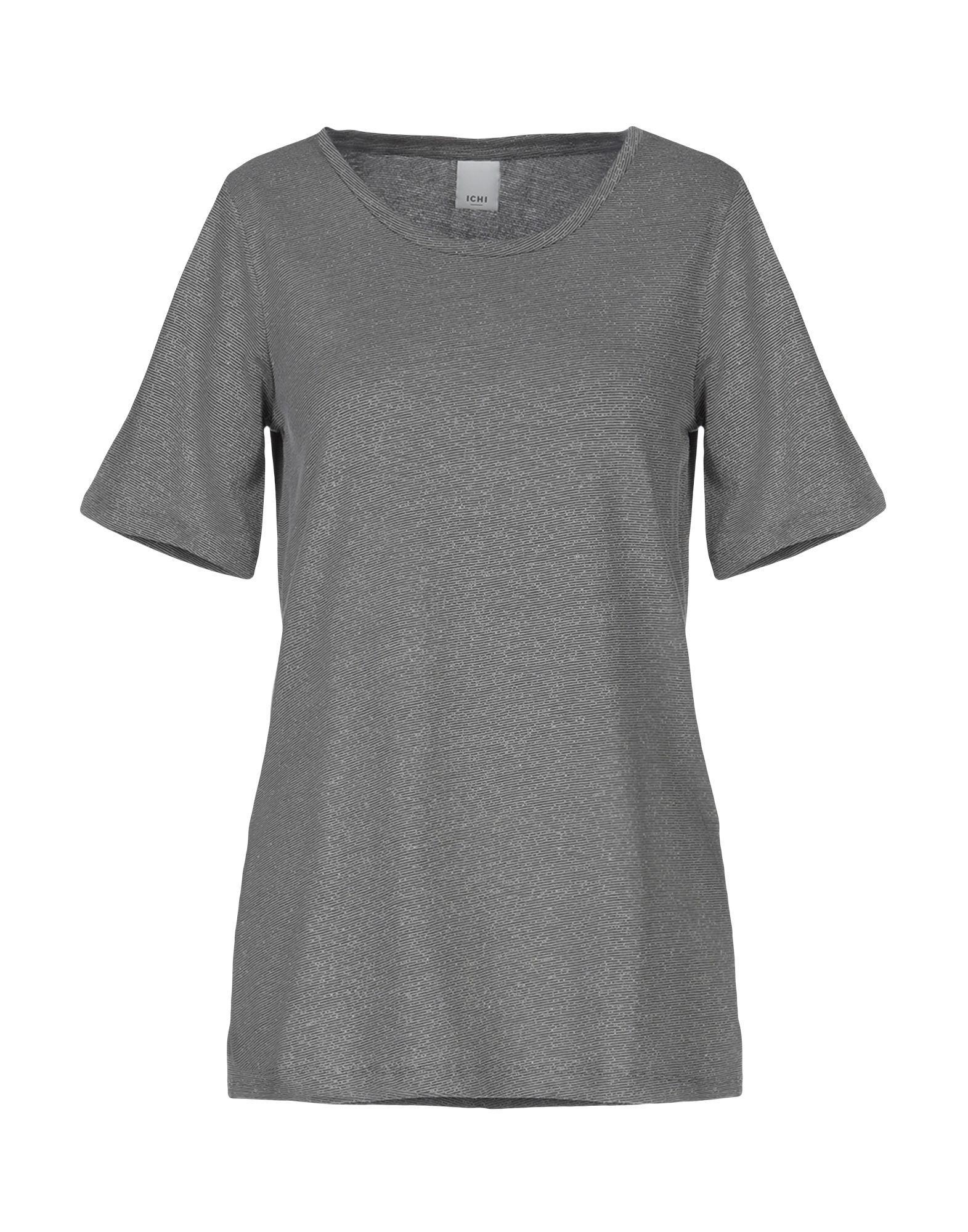 7b7f58678349 Ichi - Gray T-shirt - Lyst. View fullscreen
