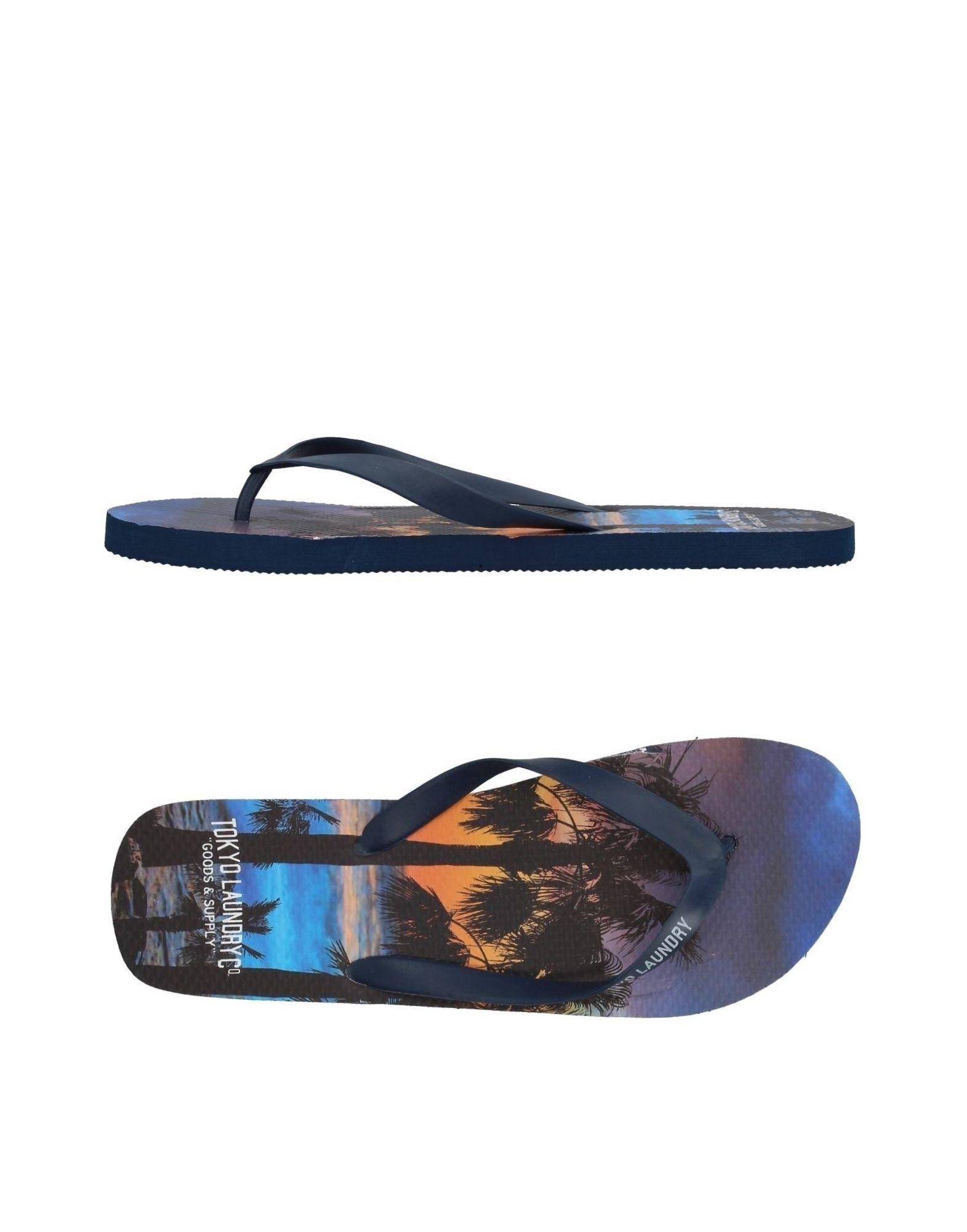 6bb74183b Sandalias de dedo Tokyo Laundry de hombre de color Azul - Lyst