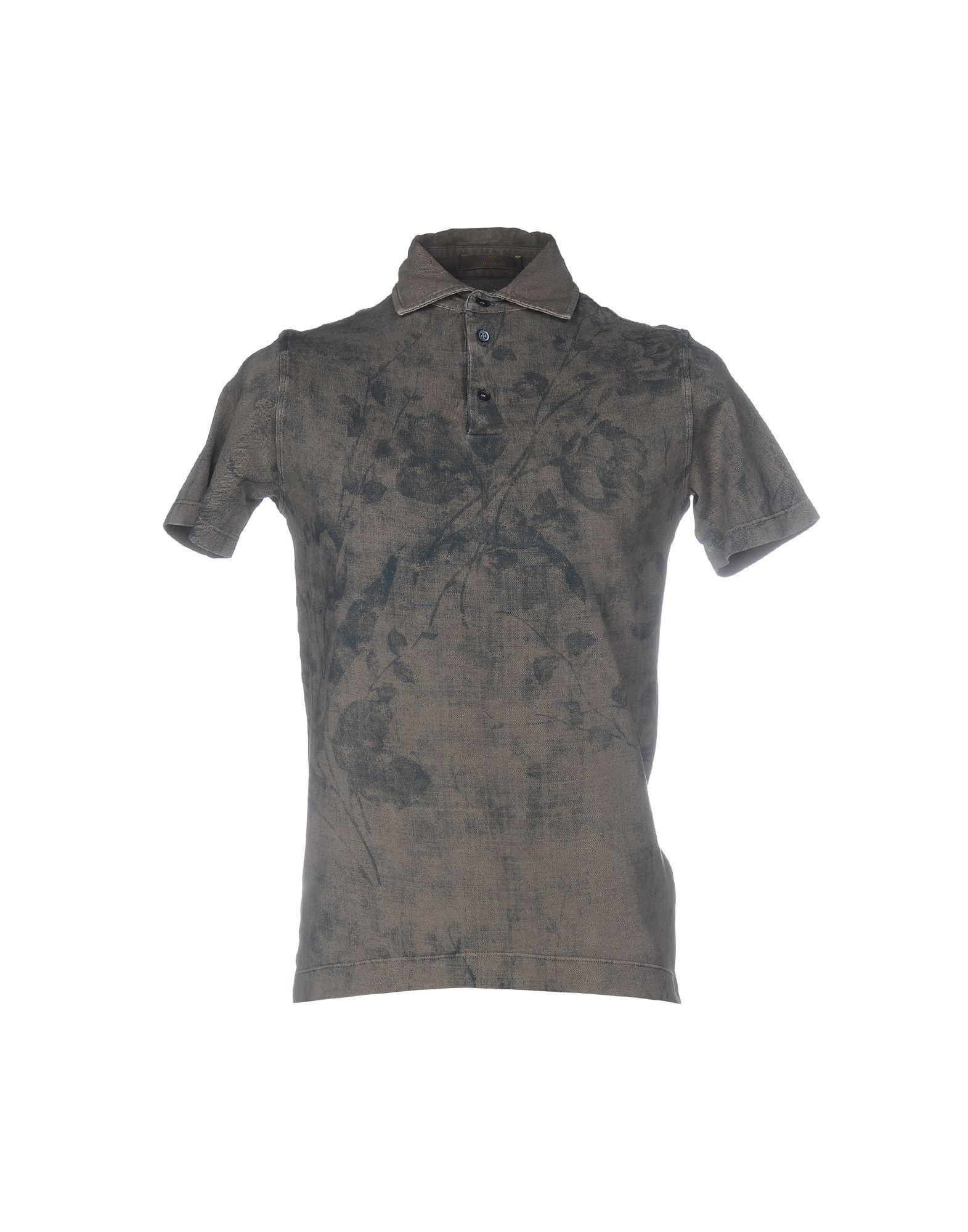 reputable site 0bd25 2a434 Lyst - Cruciani Polo Shirt in Gray for Men