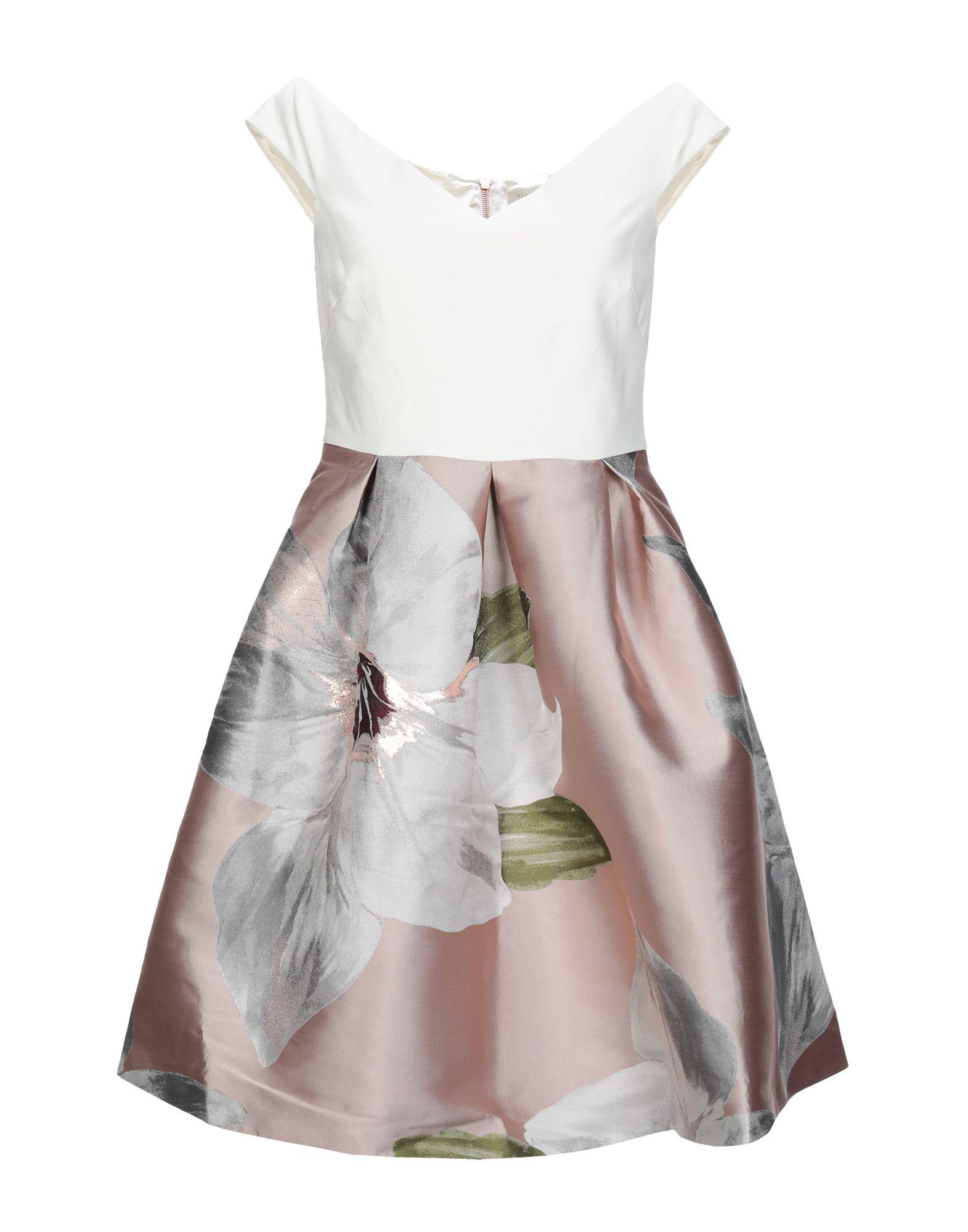 b51152fe0 Lyst - Ted Baker Short Dress in Pink