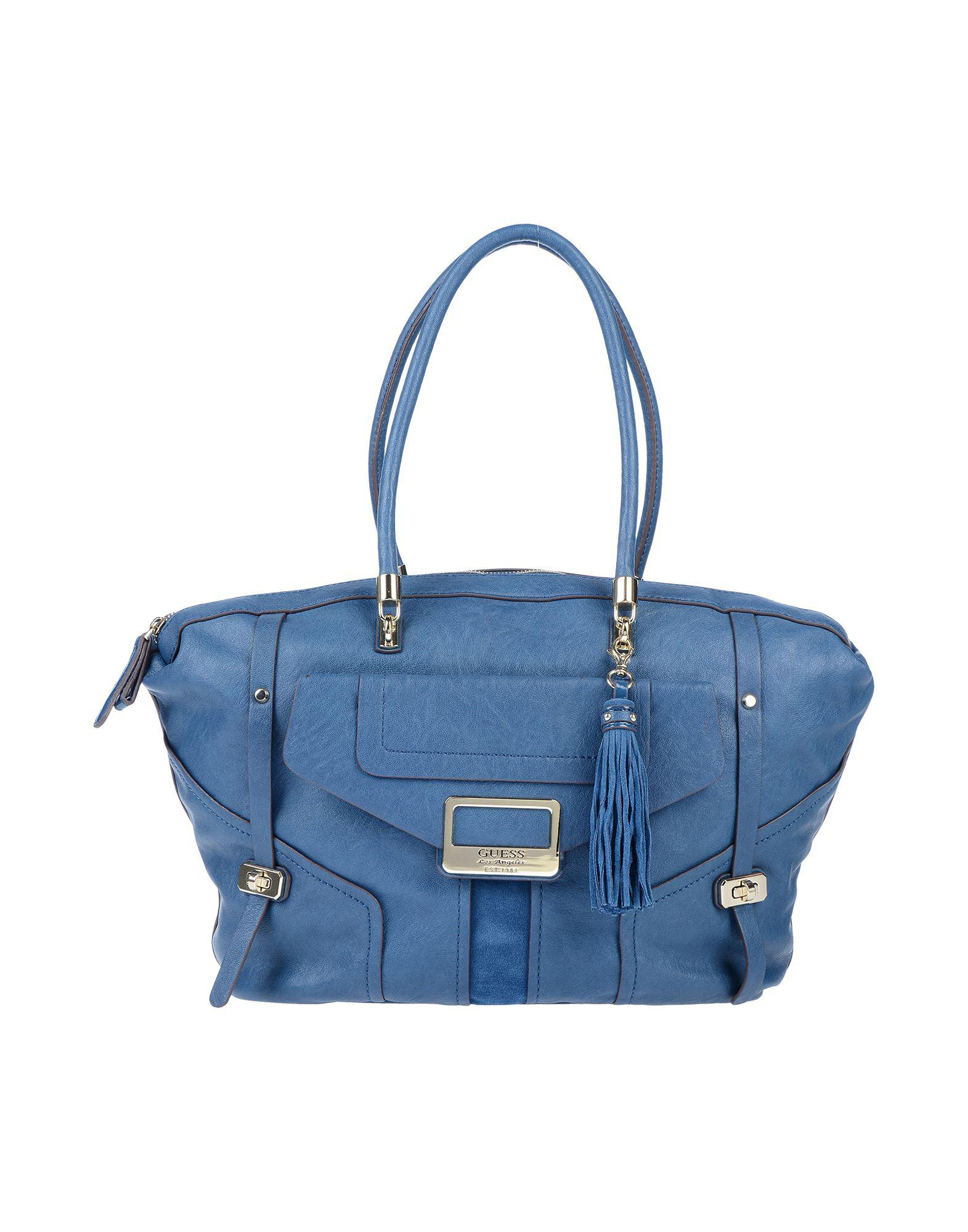 203dd5bdf392 Guess - Blue Handbag - Lyst. View fullscreen