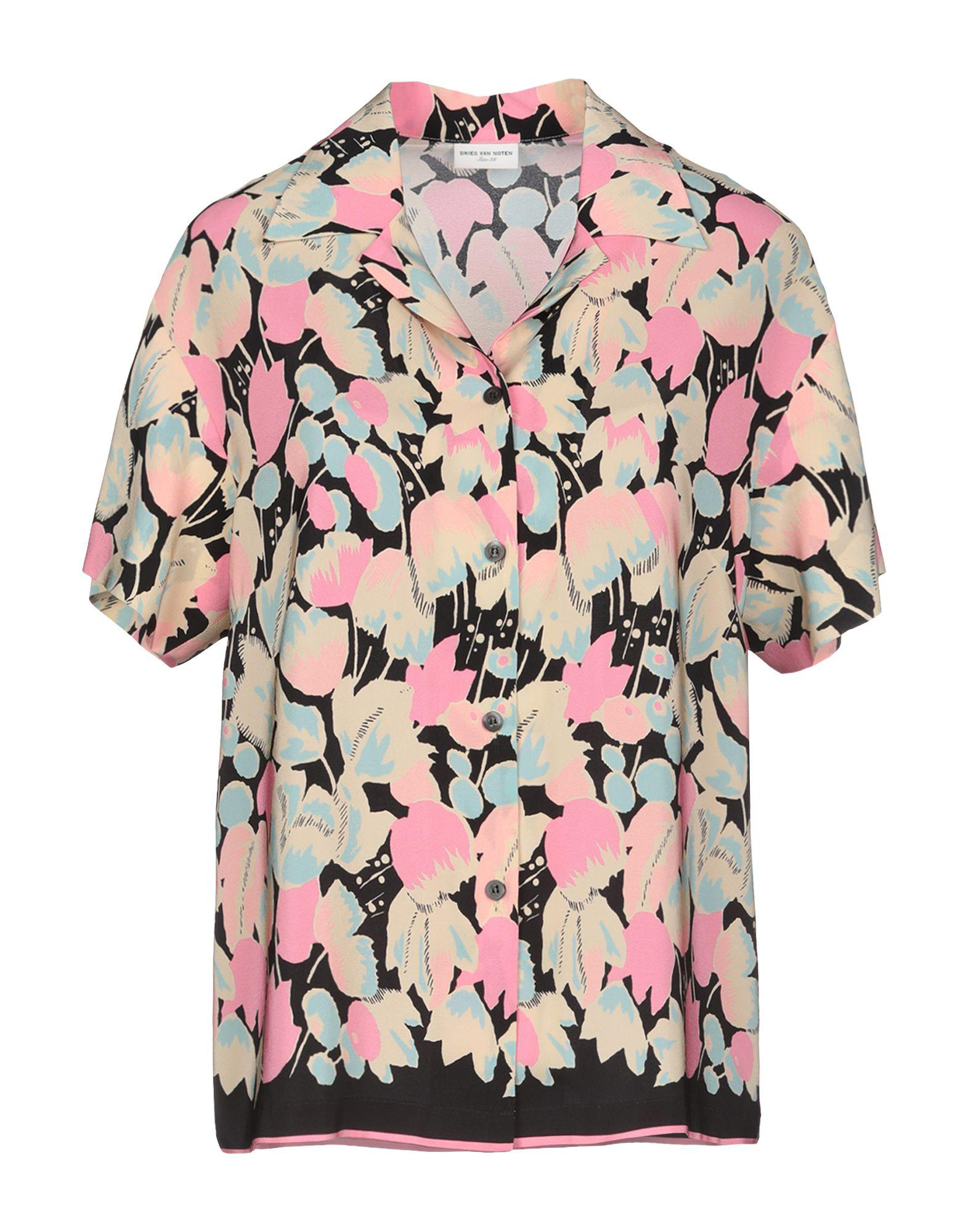 40ade7bb83bb8 Dries Van Noten Shirt in Pink - Lyst