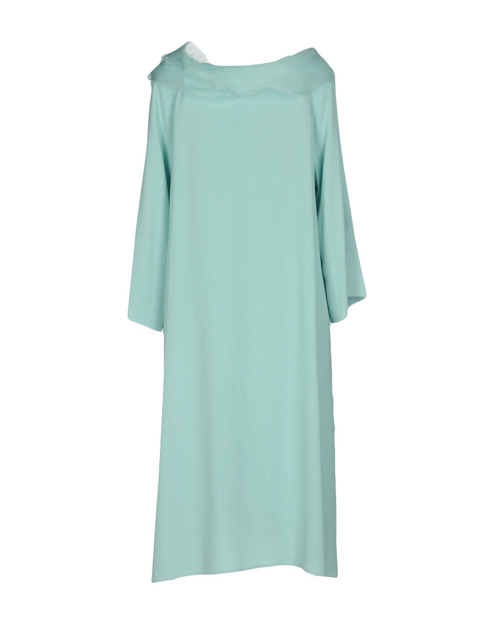 Dress Short In Lyst Milano Botondi Blue oexBdCrW